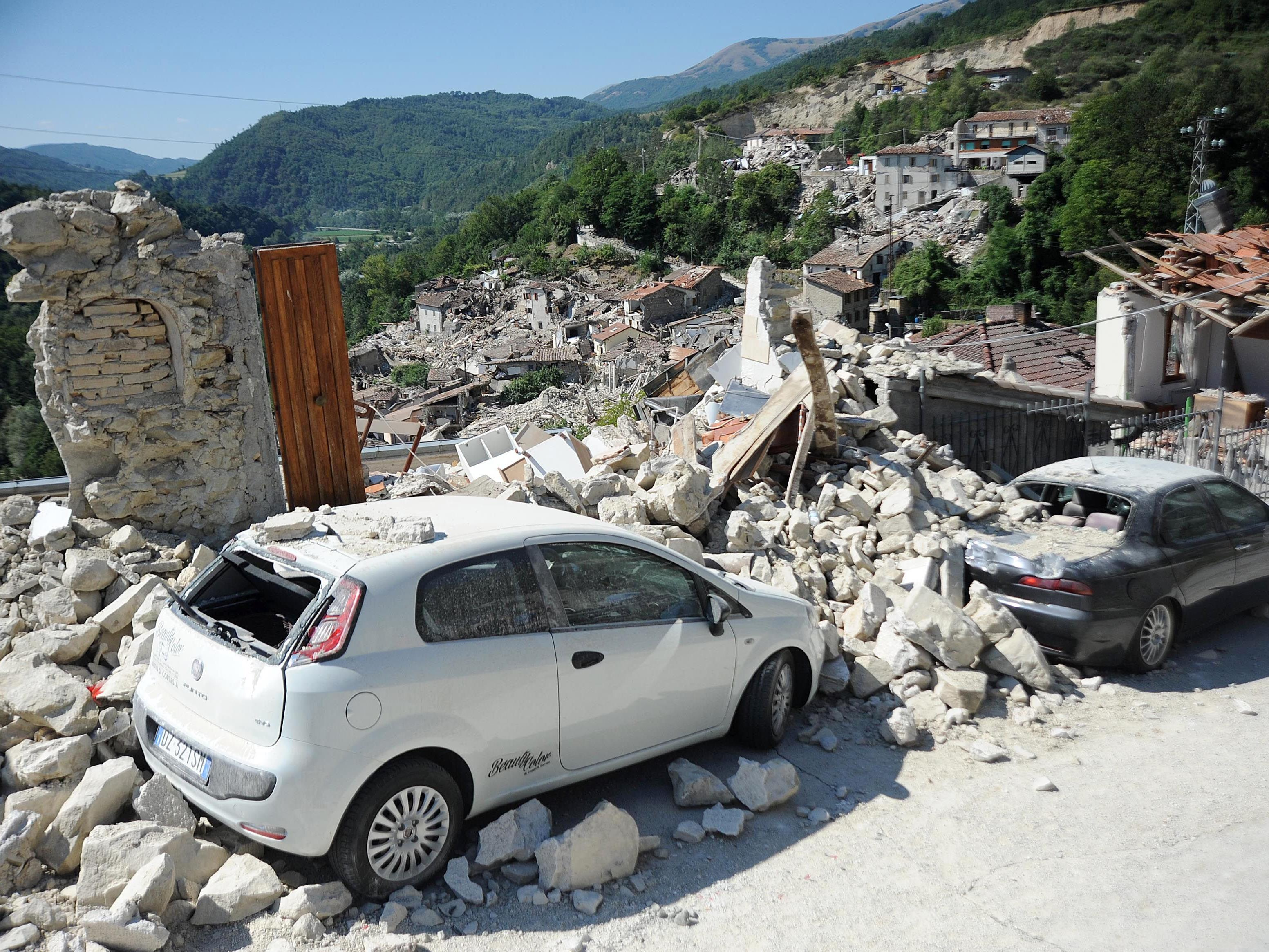 Weit über 200 Menschen sind dem verheerenden Erdbeben in Mittelitalien zum Opfer gefallen.