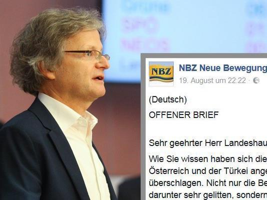 Die vorarlberger Grünen haben auf den offenen Brief der NBZ reagiert.