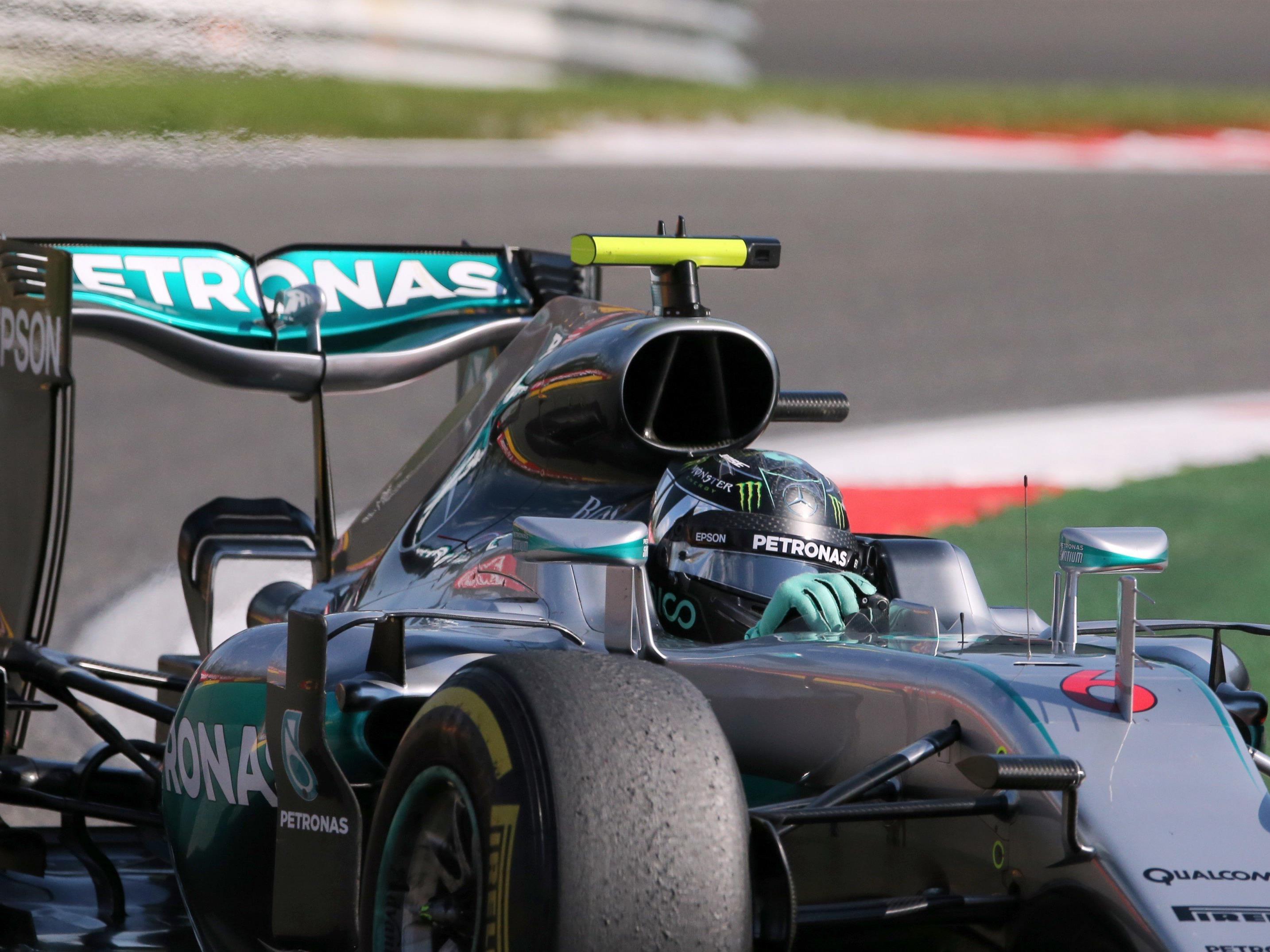 Nico Rosberg ist in Belgien heuer zum sechsten Mal auf Pole gefahren.