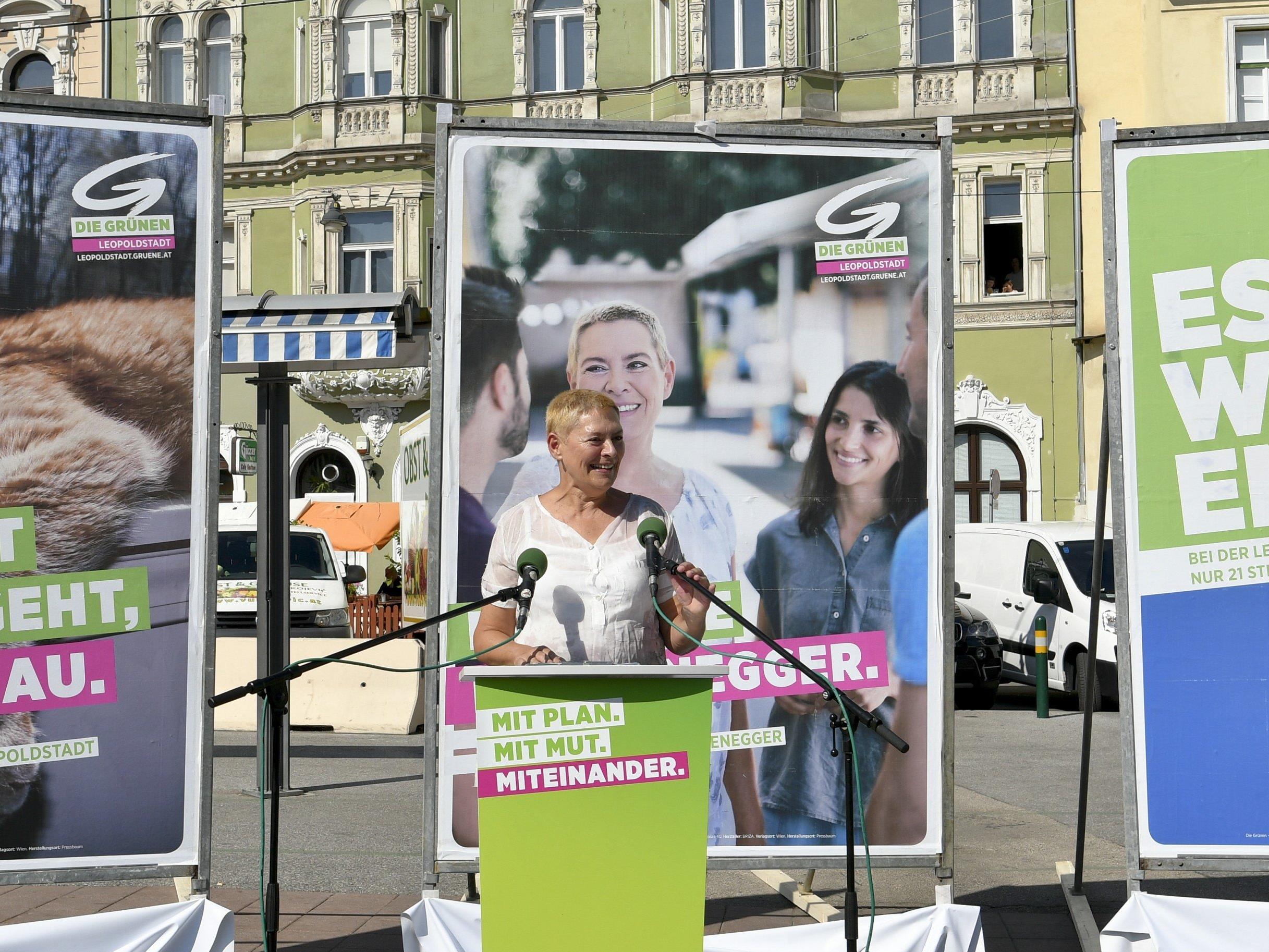Die Grünen eröffnen den Wahlkampf in der Leopoldstadt