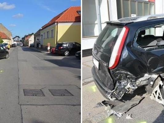 Zahlreiche Autos wurden beschädigt, teilweise schwer.