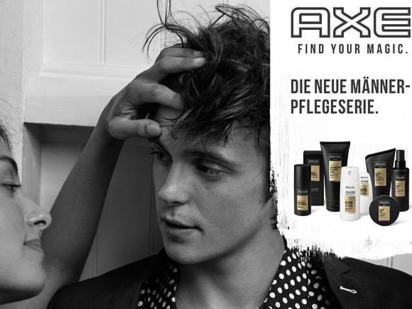 """Die AXE Kampagne steht unter dem Motto """"Find Your Magic"""""""