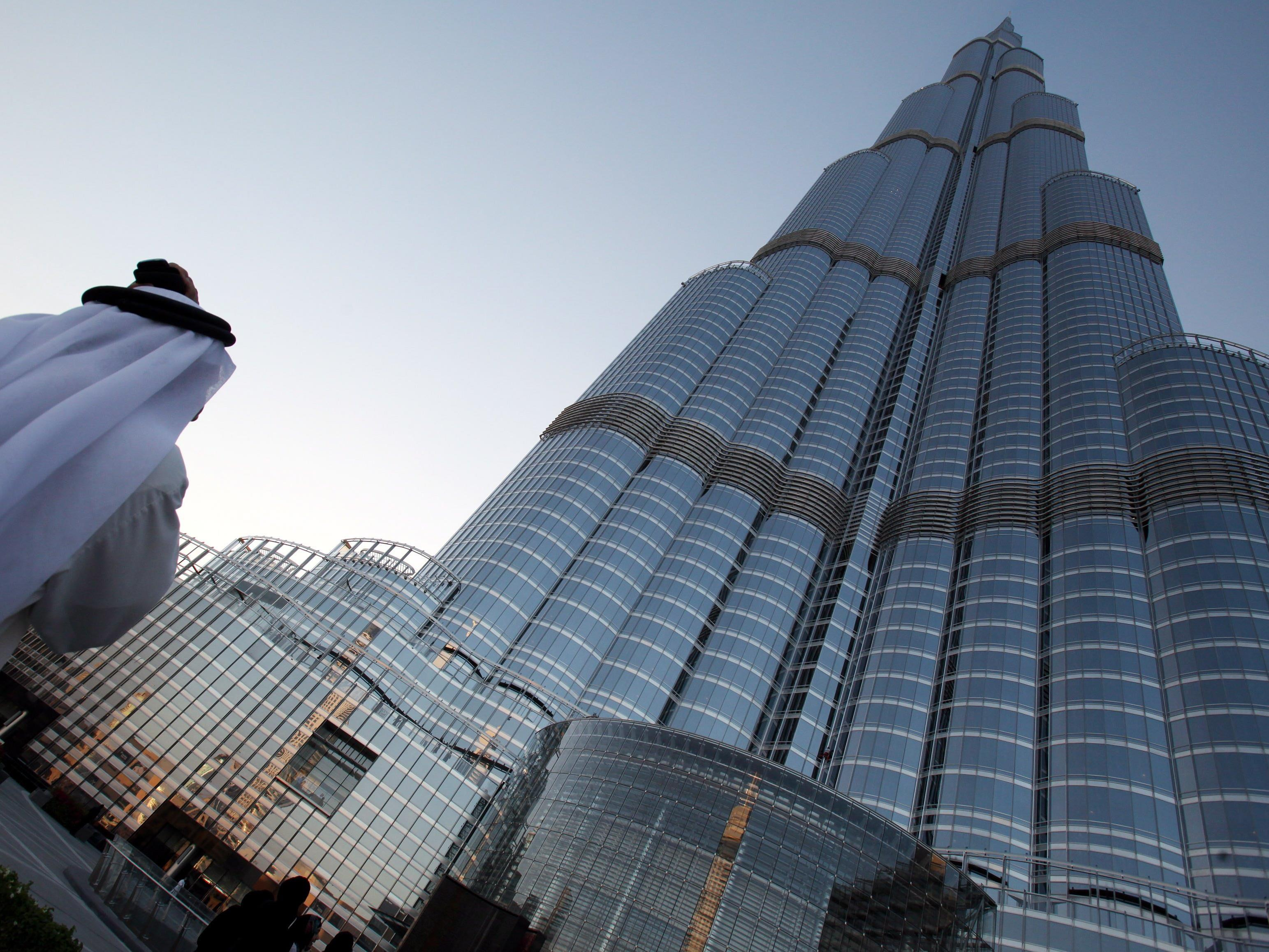 Dubai bringt immer wieder neue Luxus-Hotels hervor - Im Bild der Burj Khalifa
