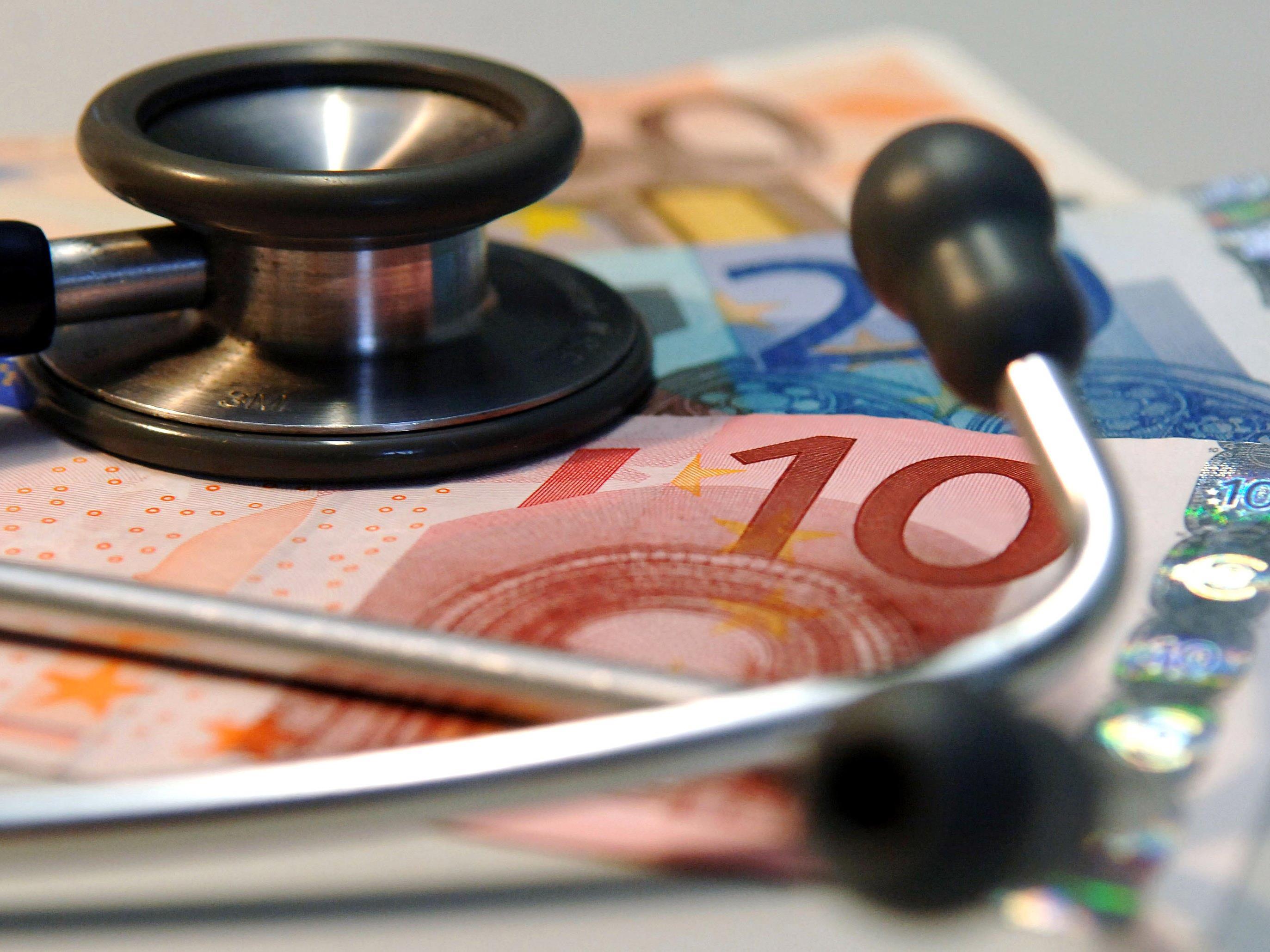 Die Krankenkassen rechnen mit einem Überschuss von 48 Millionen Euro.