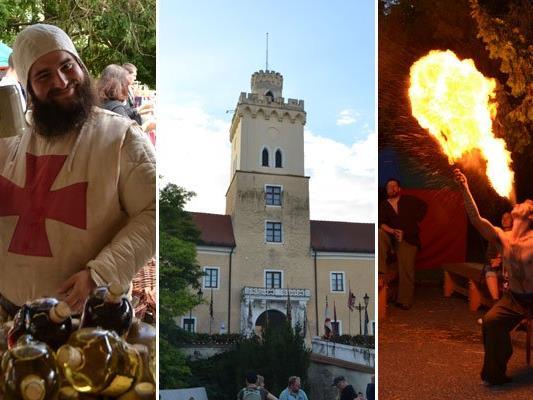 Am Wochenende fand in Dürnkrut das alljährliche Ritterfest statt.