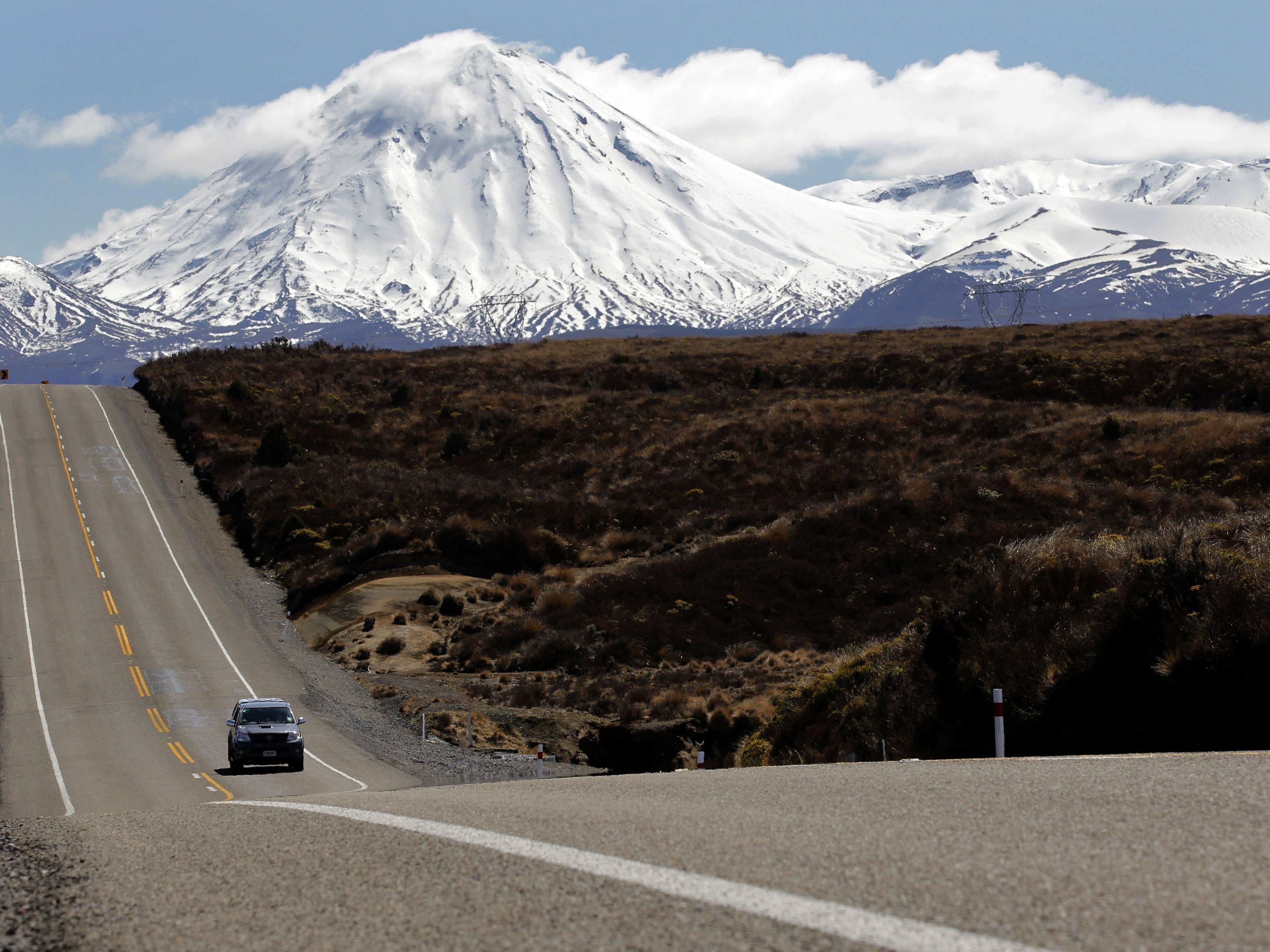 Einen Monat überlebte die Frau in den Bergen Neuseelands.
