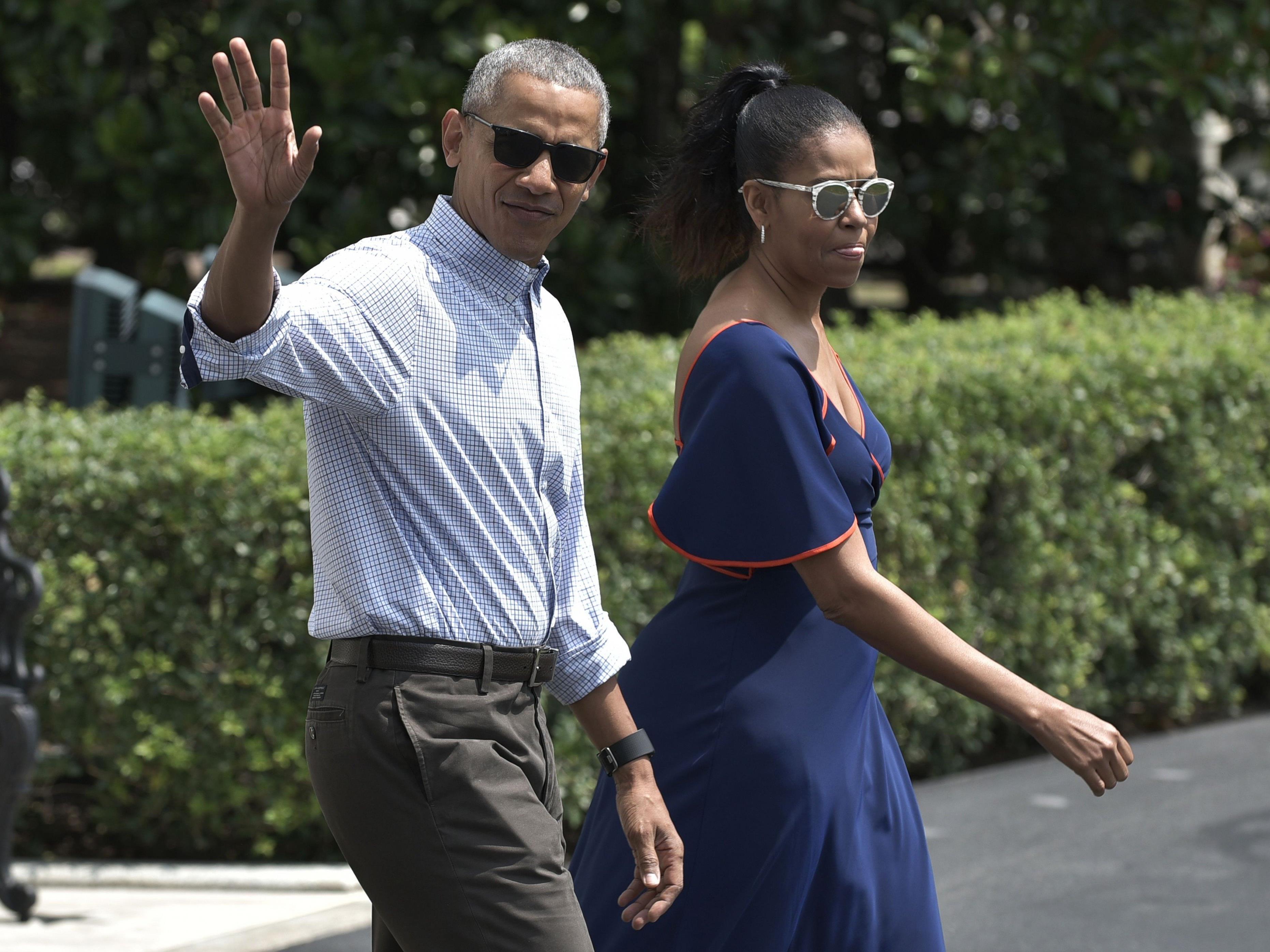 Obama urlaubt zurzeit mit seiner Familie.