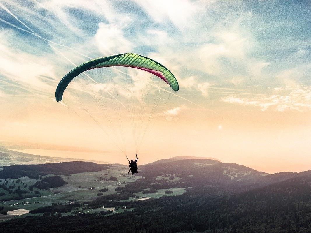 Ein Paragleiter stürzte in NÖ aus 20 Metern Höhe ab.