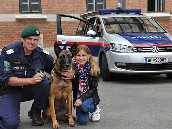 Ein Tag bei der Polizeidiensthundeeinheit verspricht ein spannendes Programm