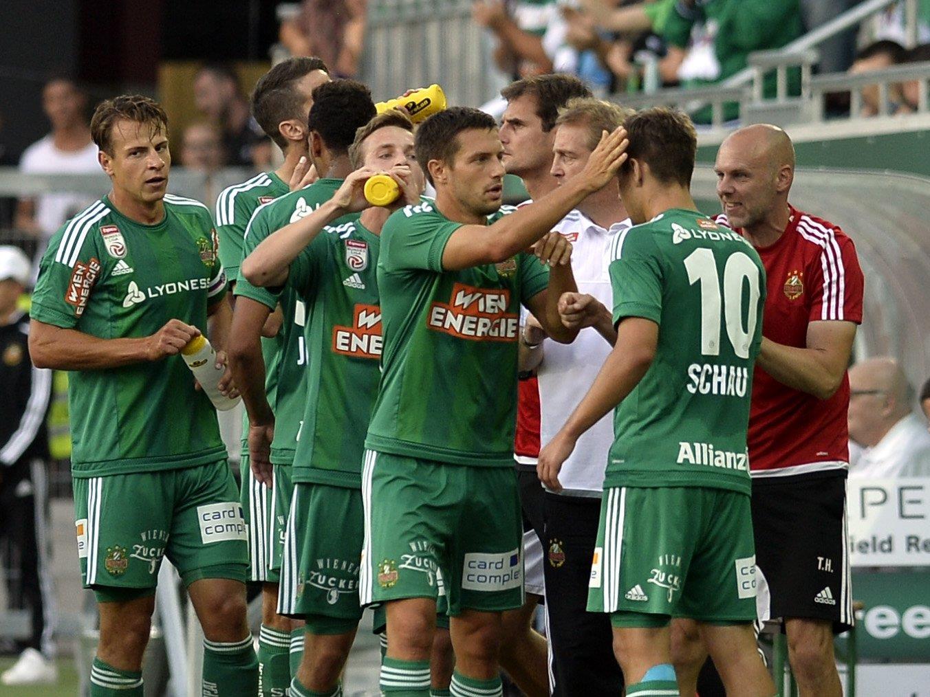 Am Donnerstag trifft Rapid Wien auwärts auf Trencin im EL-Play-off.