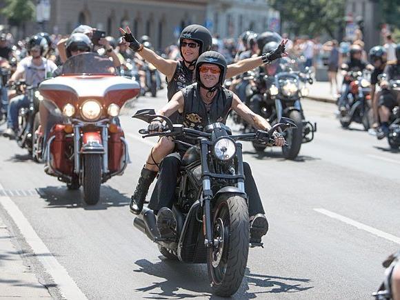 Am Wiener Ring sind die Biker los - für den guten Zweck