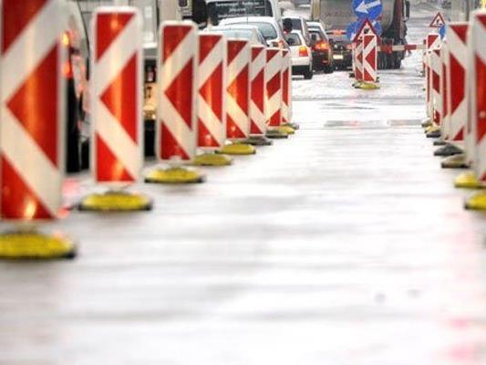 Auf Wiens Straßen wird fleißig weitersaniert.