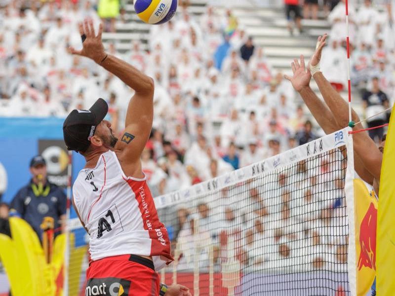 Die Beach Volleyball WM wird in Wien stattfinden.