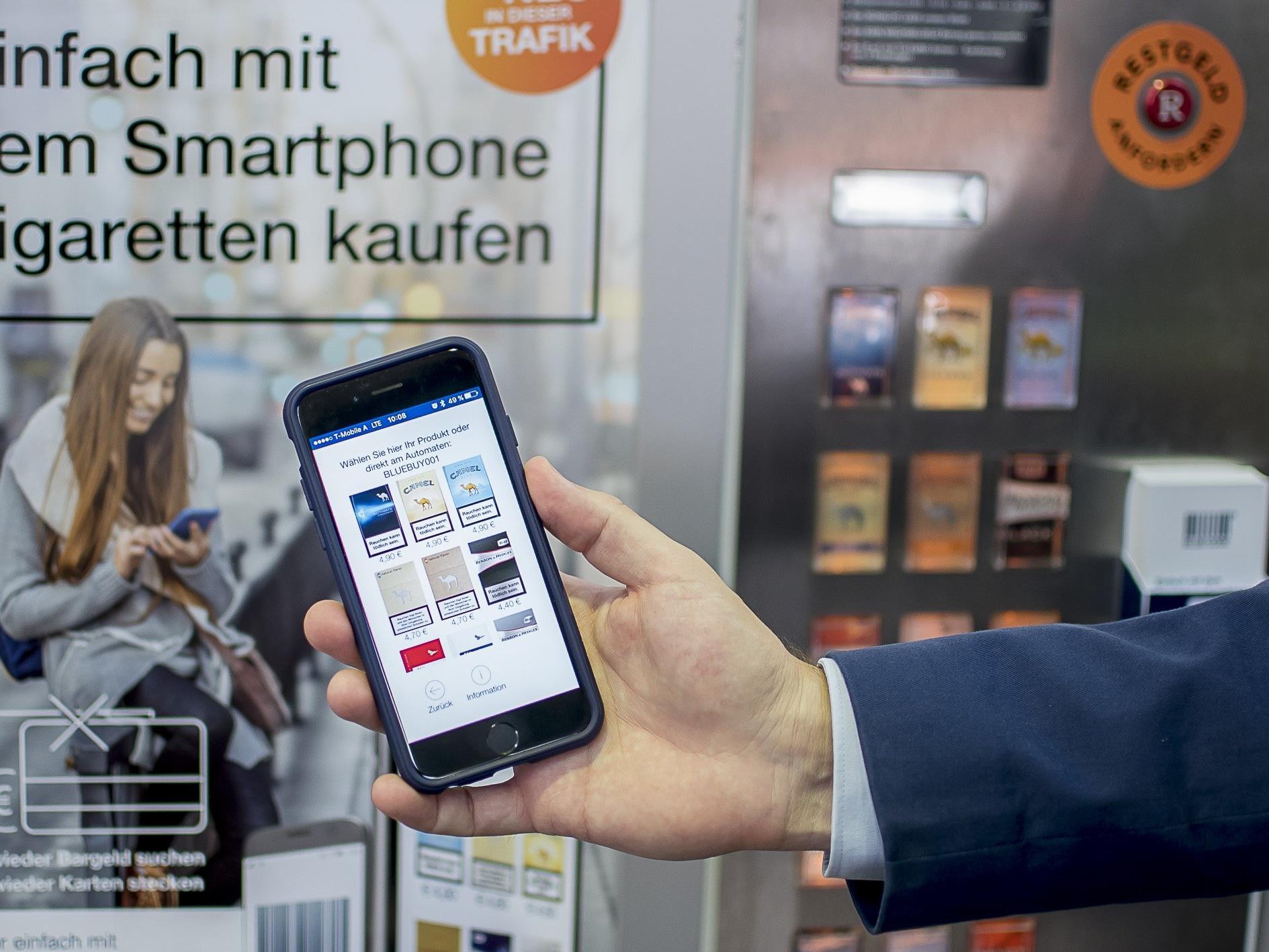 Raucher haben mit der App bald kein Wechselgeldproblem mehr.