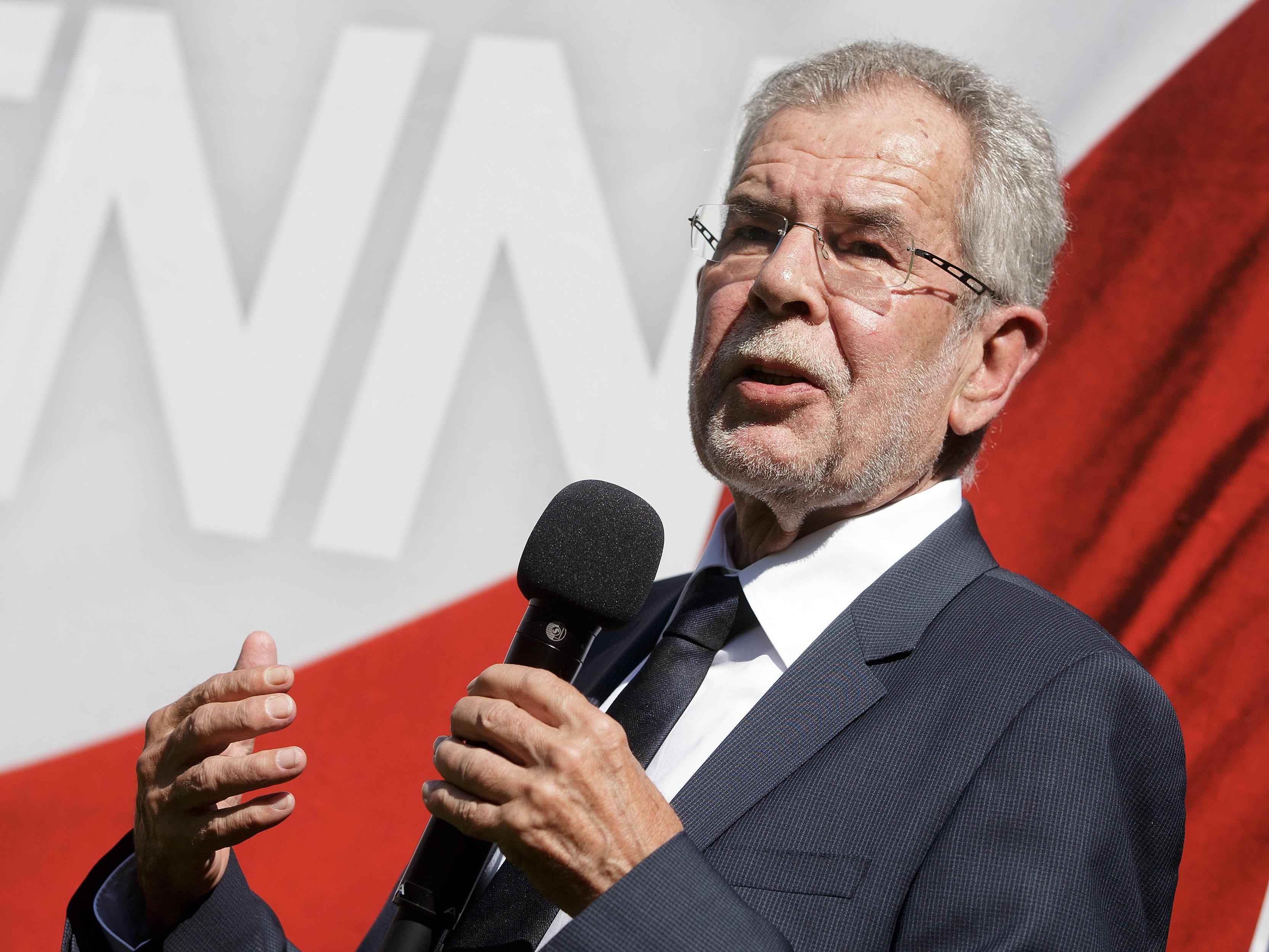Alexander Van der Bellen sagte seinen Wahlkampfauftakt zur Bundespräsidentenwahl ab.