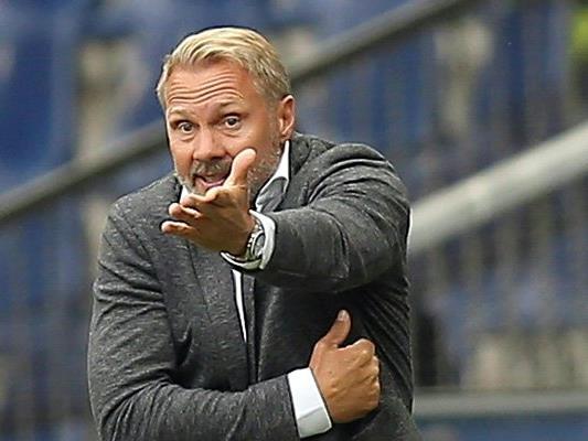 Austria-Trainer Thorsten Fink erklärt die Heimniederlage gegen die Admira.