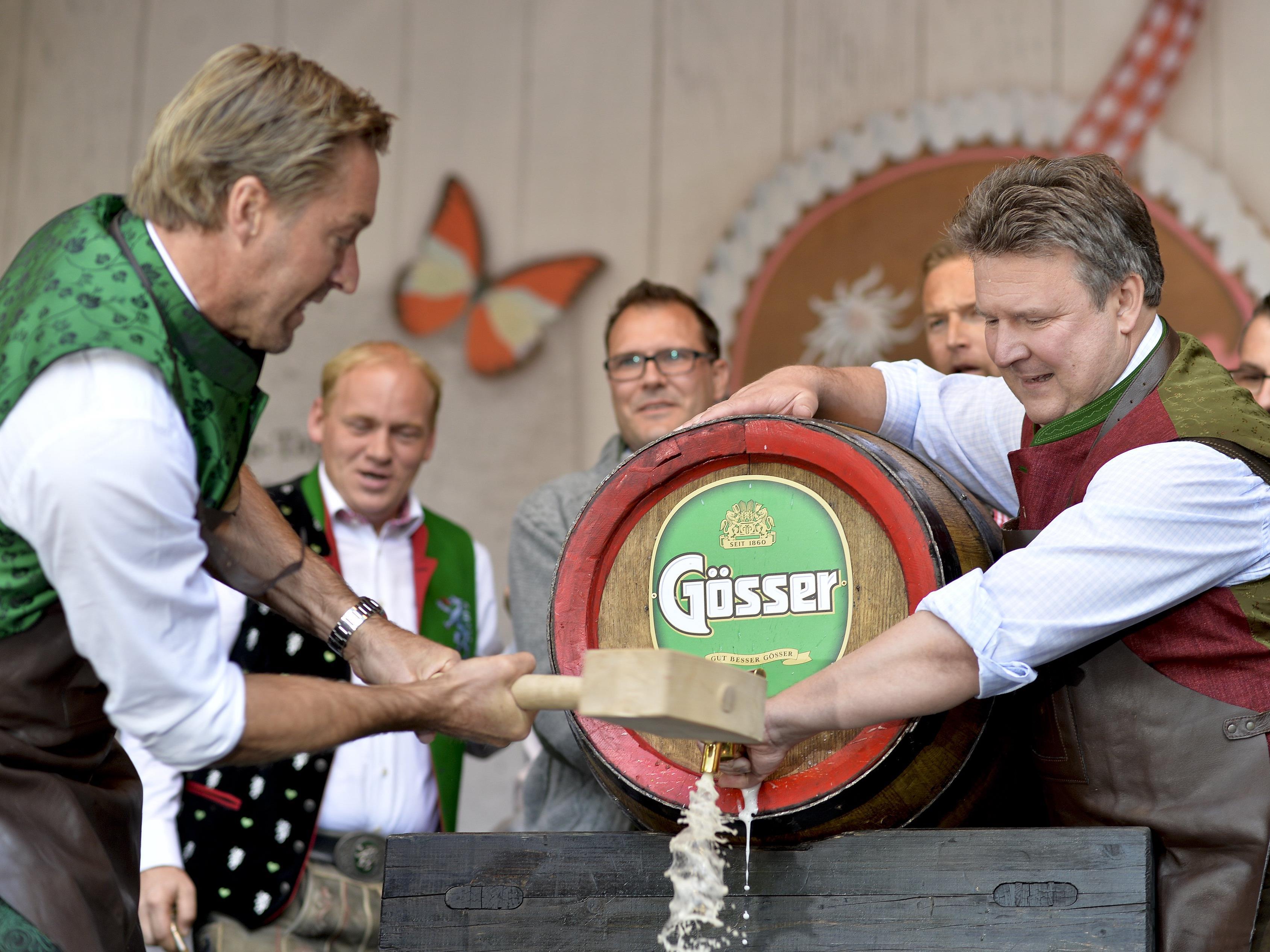 Die Wiener Wiesn 2016 ist seit Donnerstagmittag offiziell eröffnet.