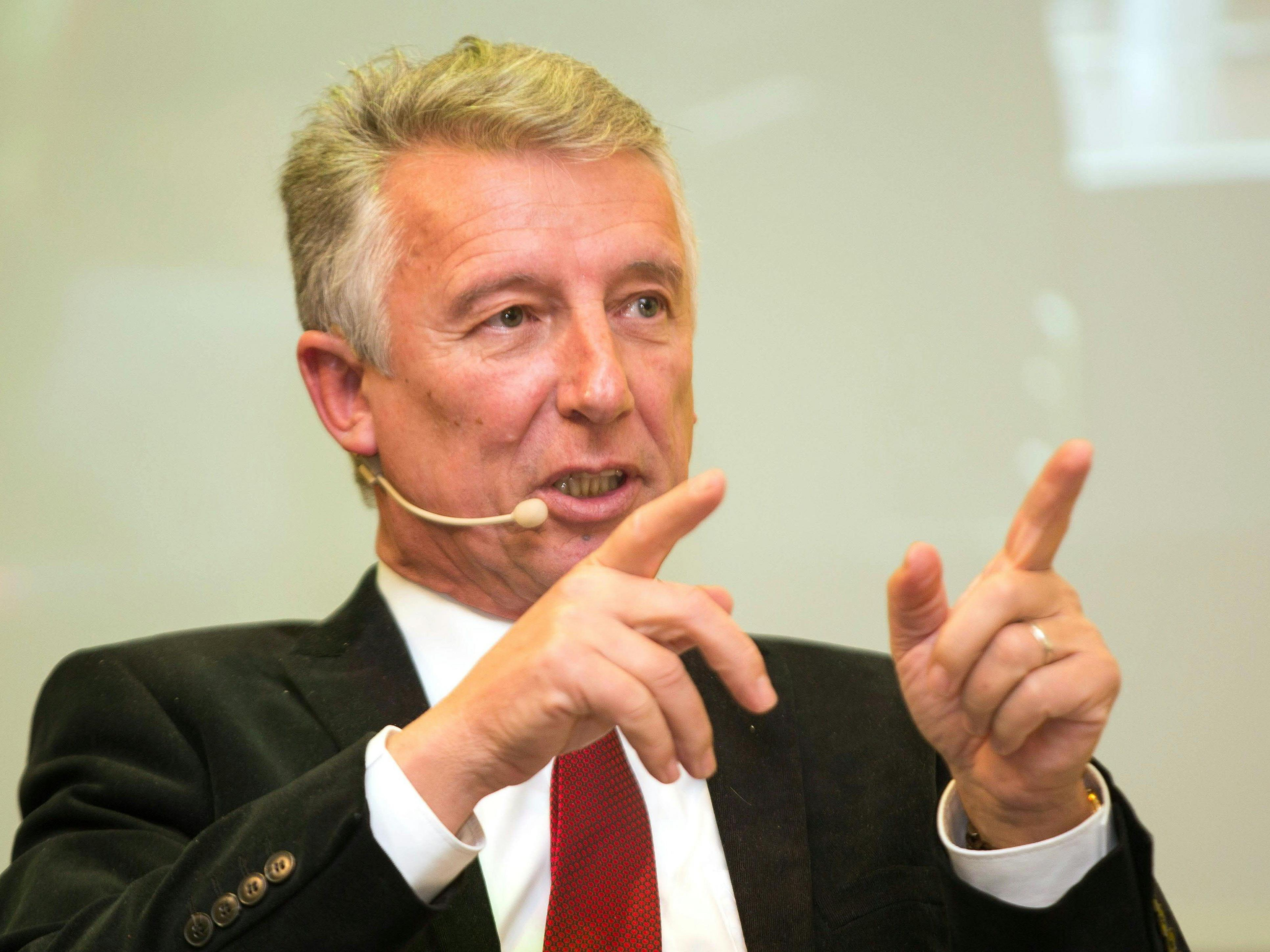 Gemeindebund-Präsident Helmut Mödlhammer von der ÖVP.