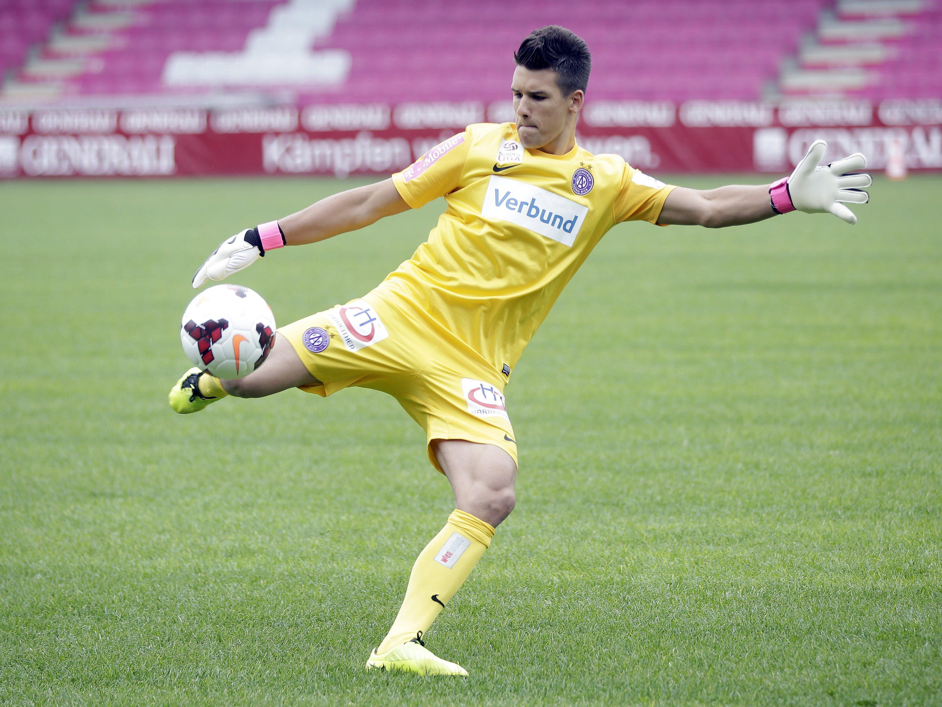 Osman Hadžikić ist für das Admira-Match am Samstag fraglich.