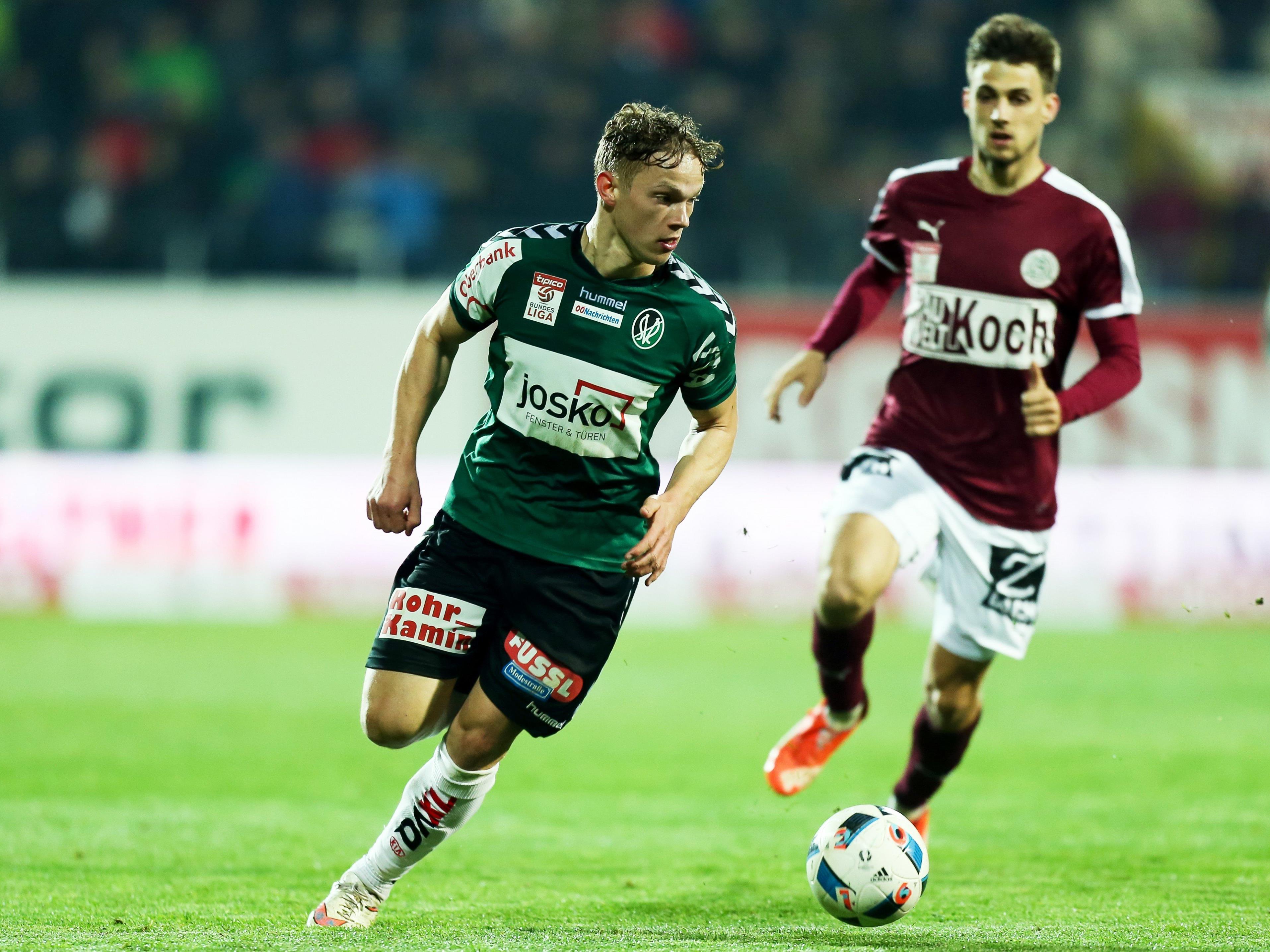 Liveticker vom Spiel Mattersburg gegen Ried.
