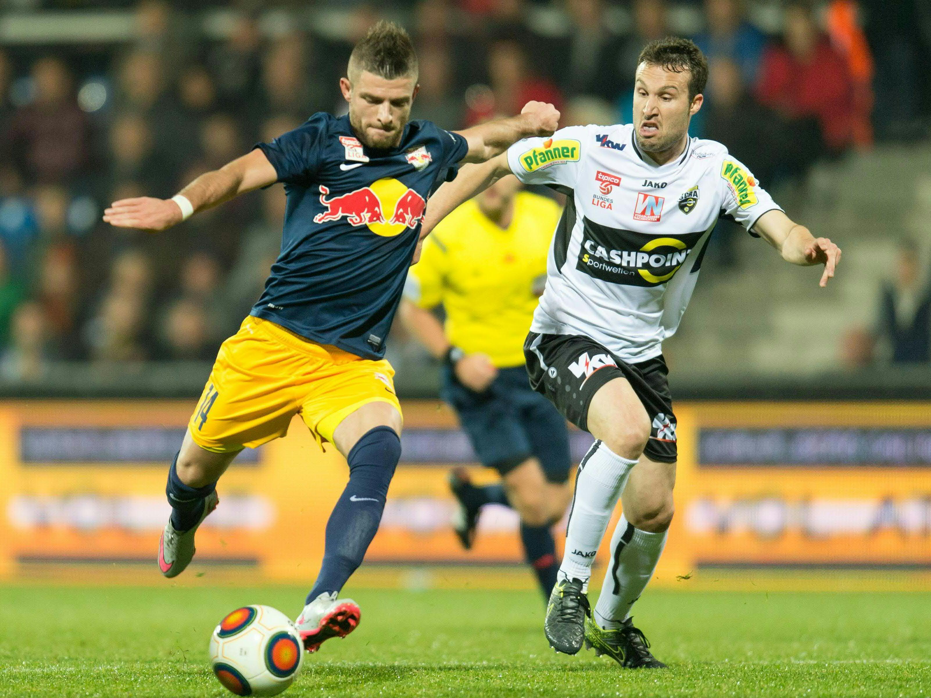 Liveticker vom Spiel Altach gegen Salzburg.