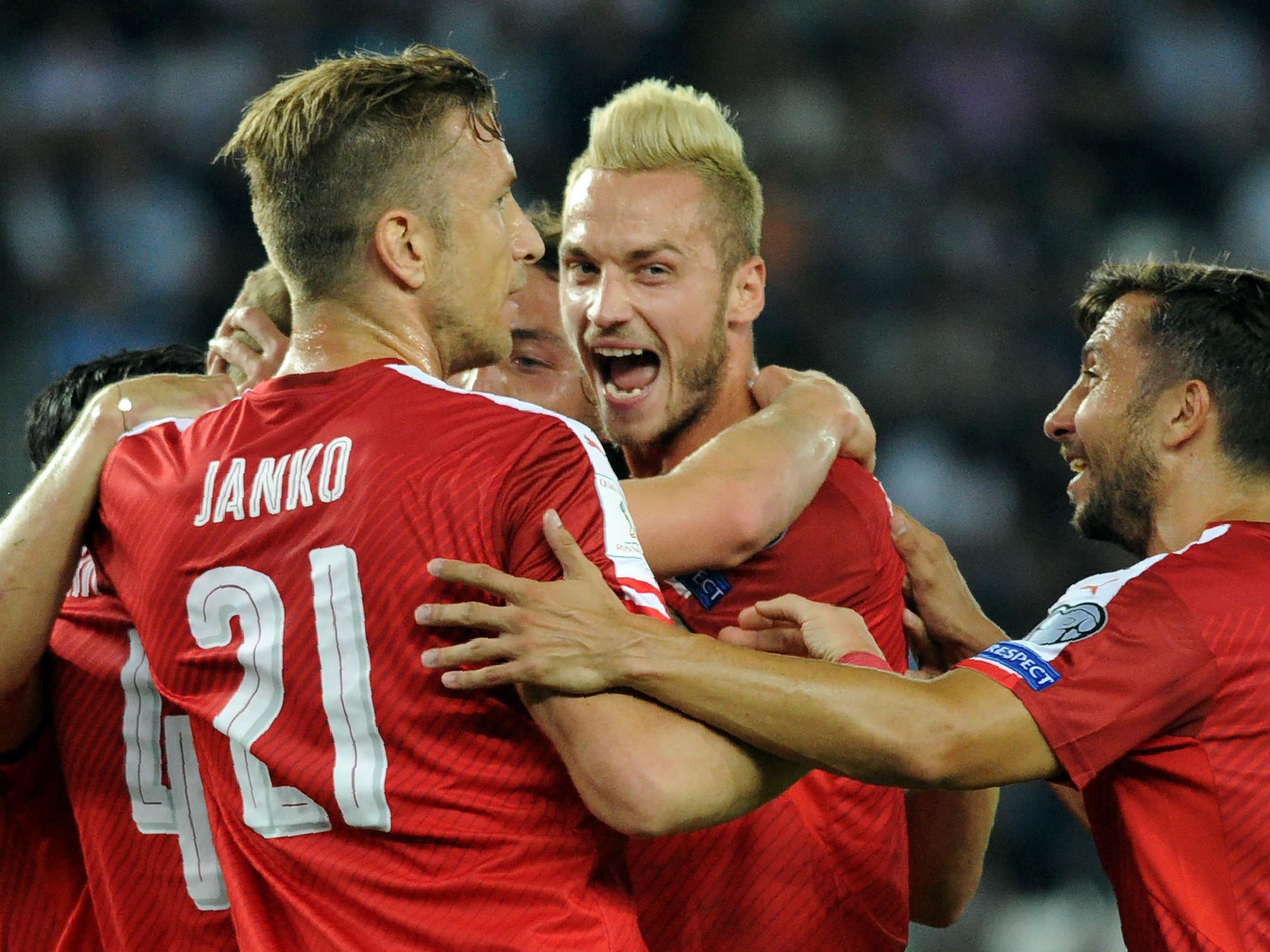 Am Ende durfte Österreich über einen wichtigen Sieg jubeln.