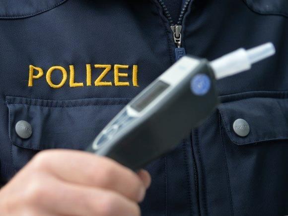 Die Wiener Polizei stoppte einen Alko-Lenker