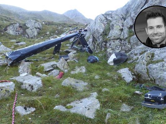 Hannes Arch hätte offenbar nicht zu seinem Nachtflug von der Elberfelder Hütte starten dürfen.