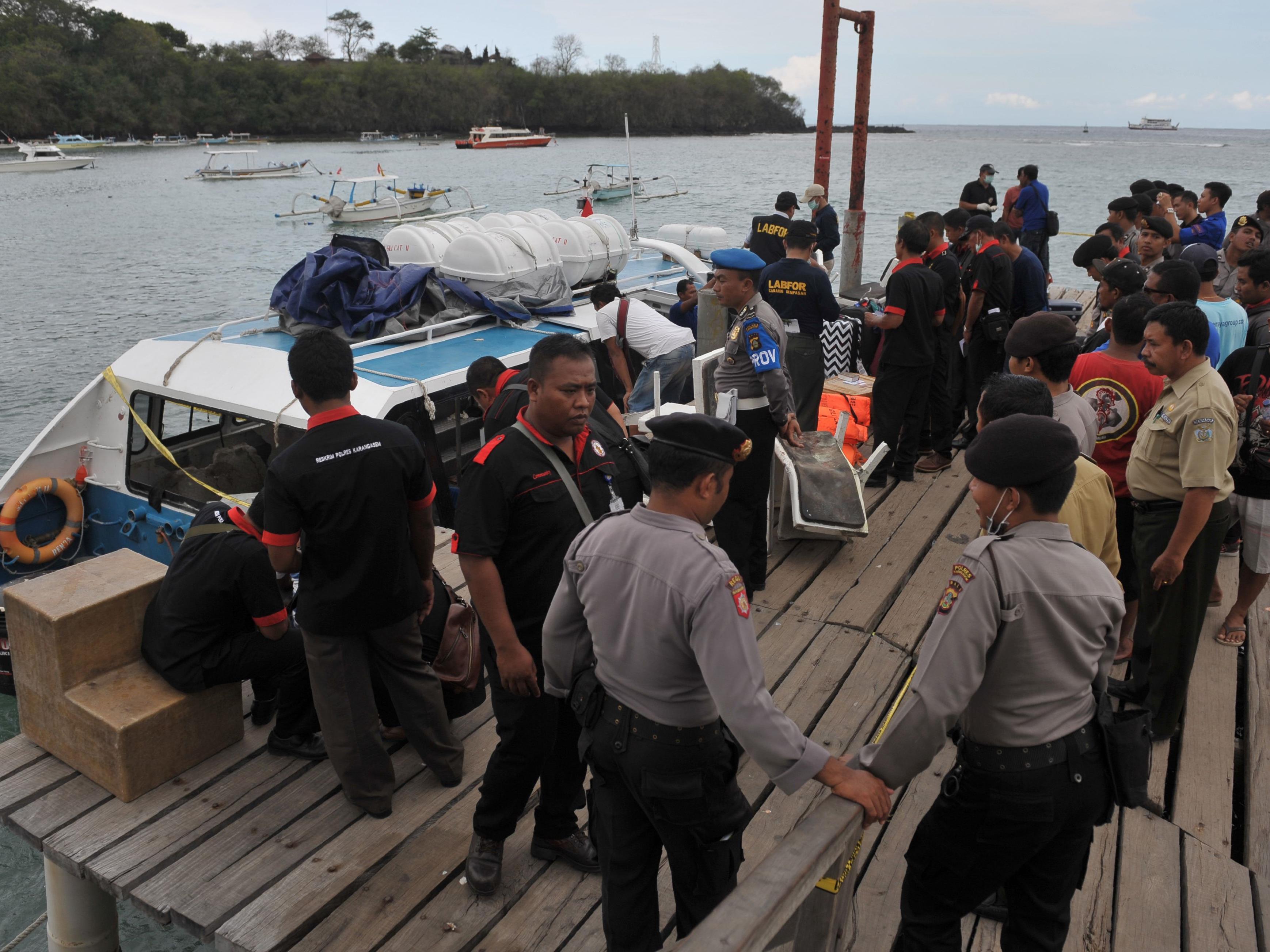 Bei einer Explosion auf einem Ausflugsschiff in Bali kam eine Österreicherin ums Leben