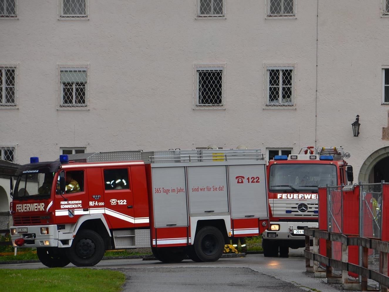Die Feuerwehr Schwarzach musste am Montag ausrücken.