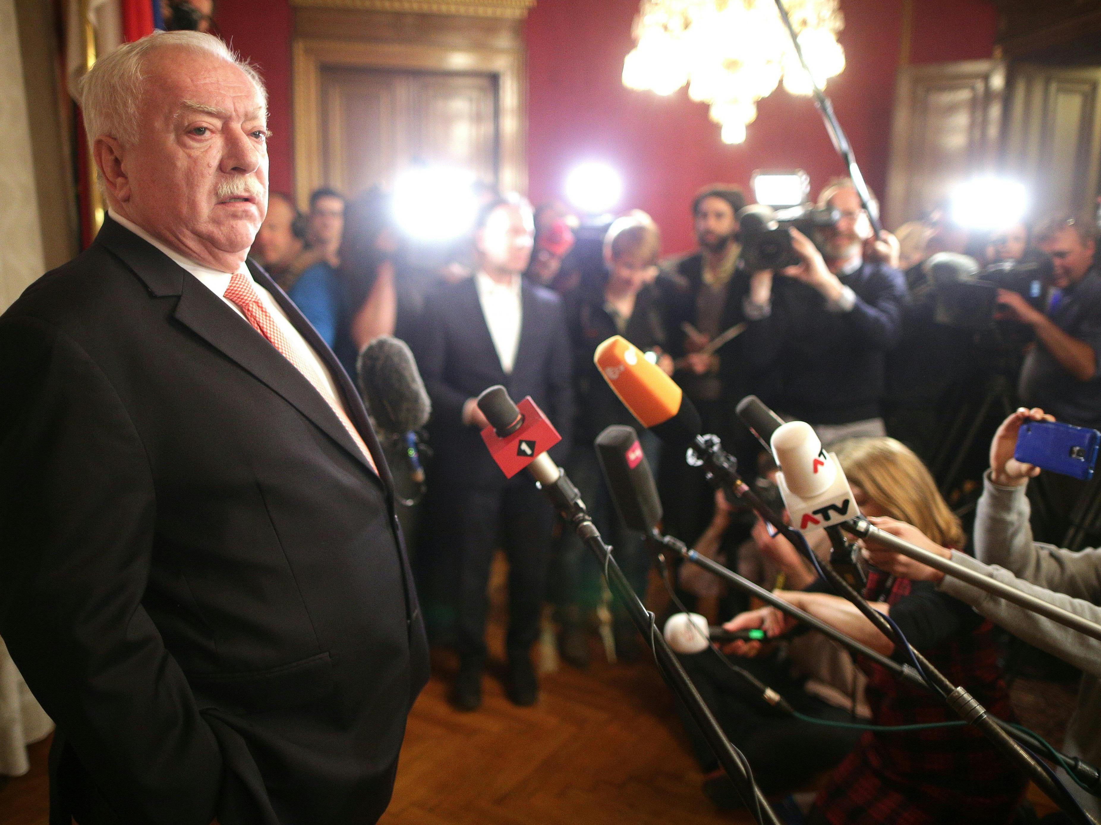 Michael Häupl will kein Machtwort nach den Verlusten in der Leopoldstadt sprechen