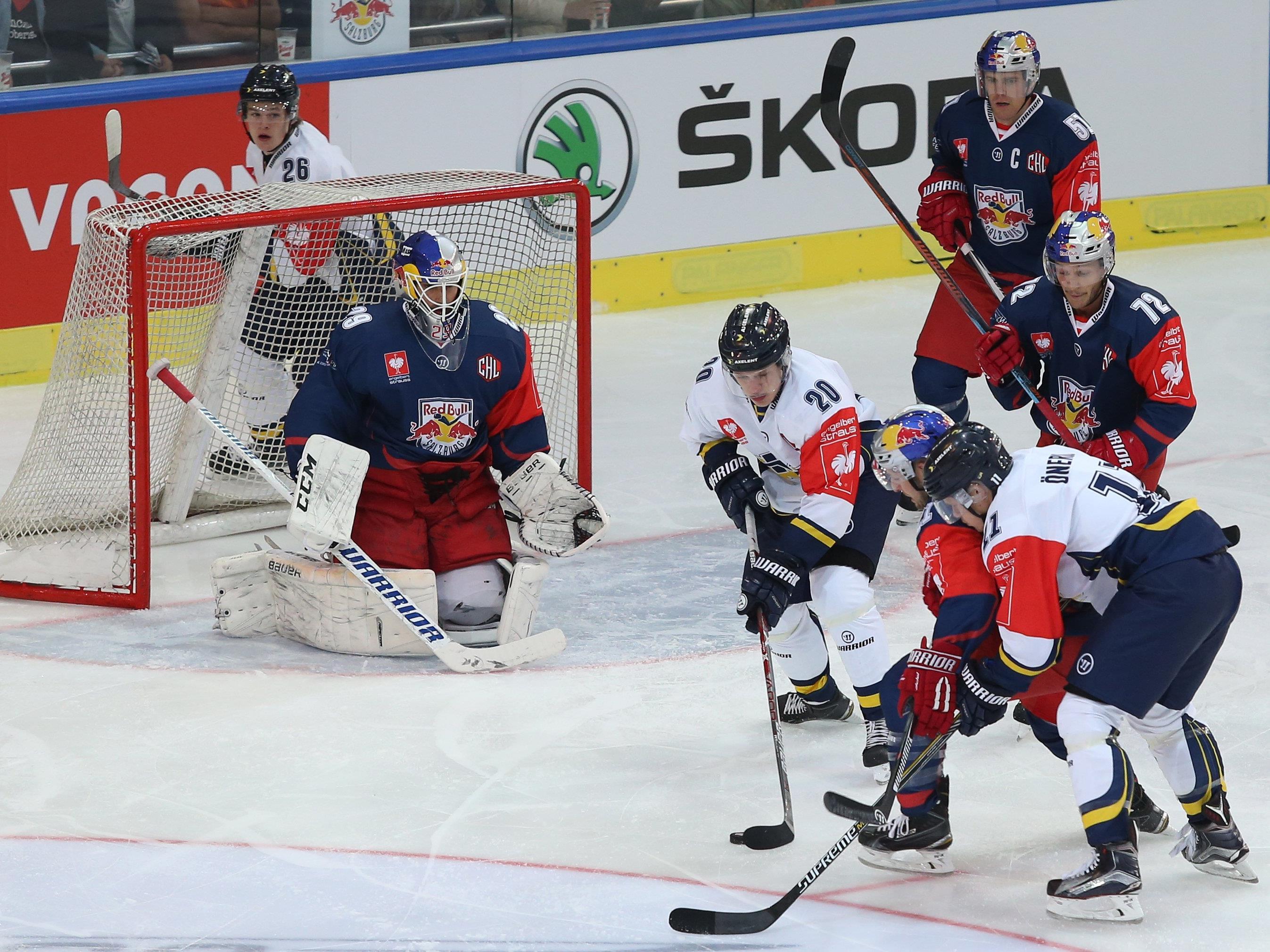 Salzburg ging im Heimspiel gegen Jönköping unter.