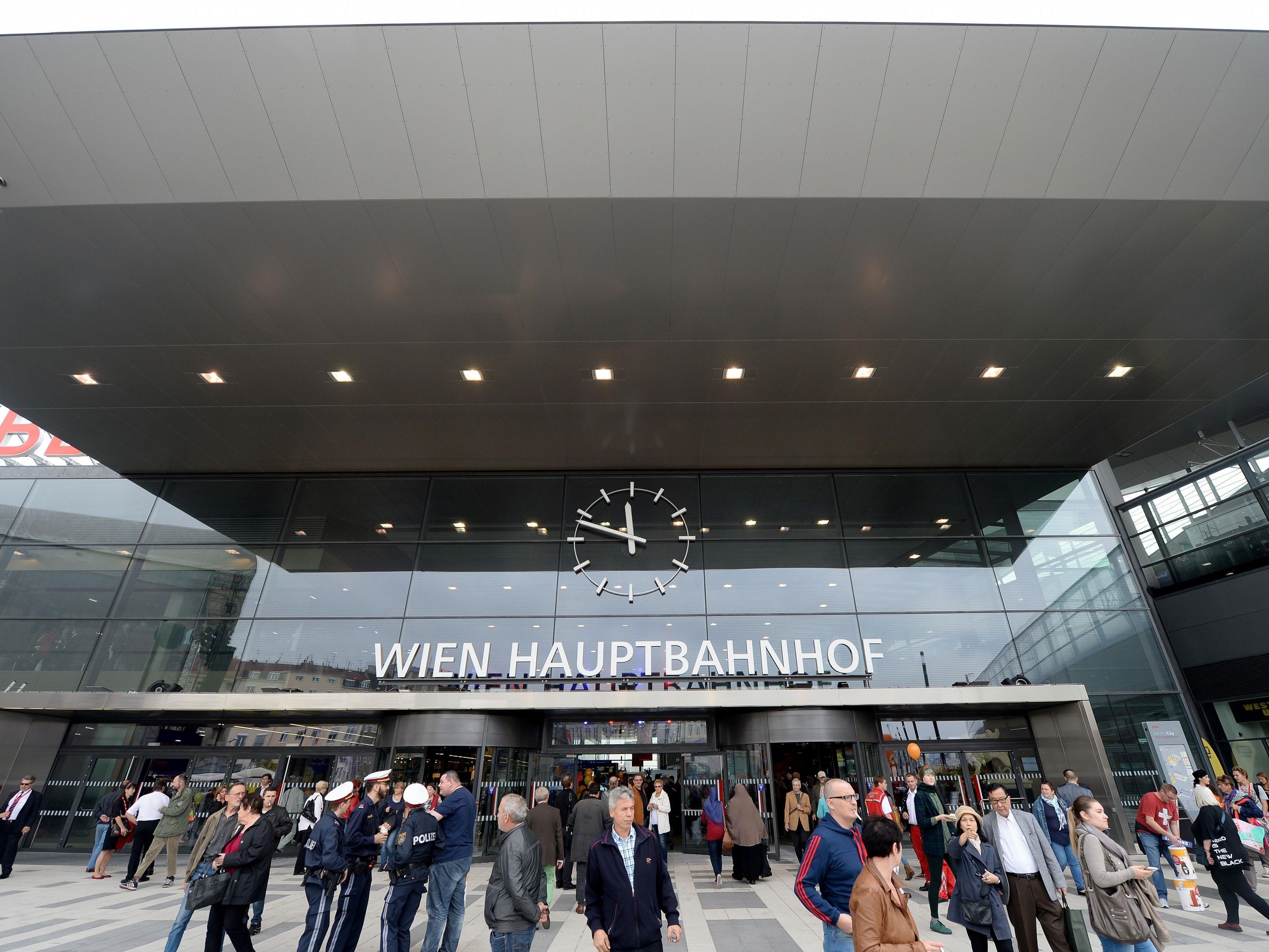 Am Hauptbahnhof kam es zu einer Attacke mit einer Glasflasche