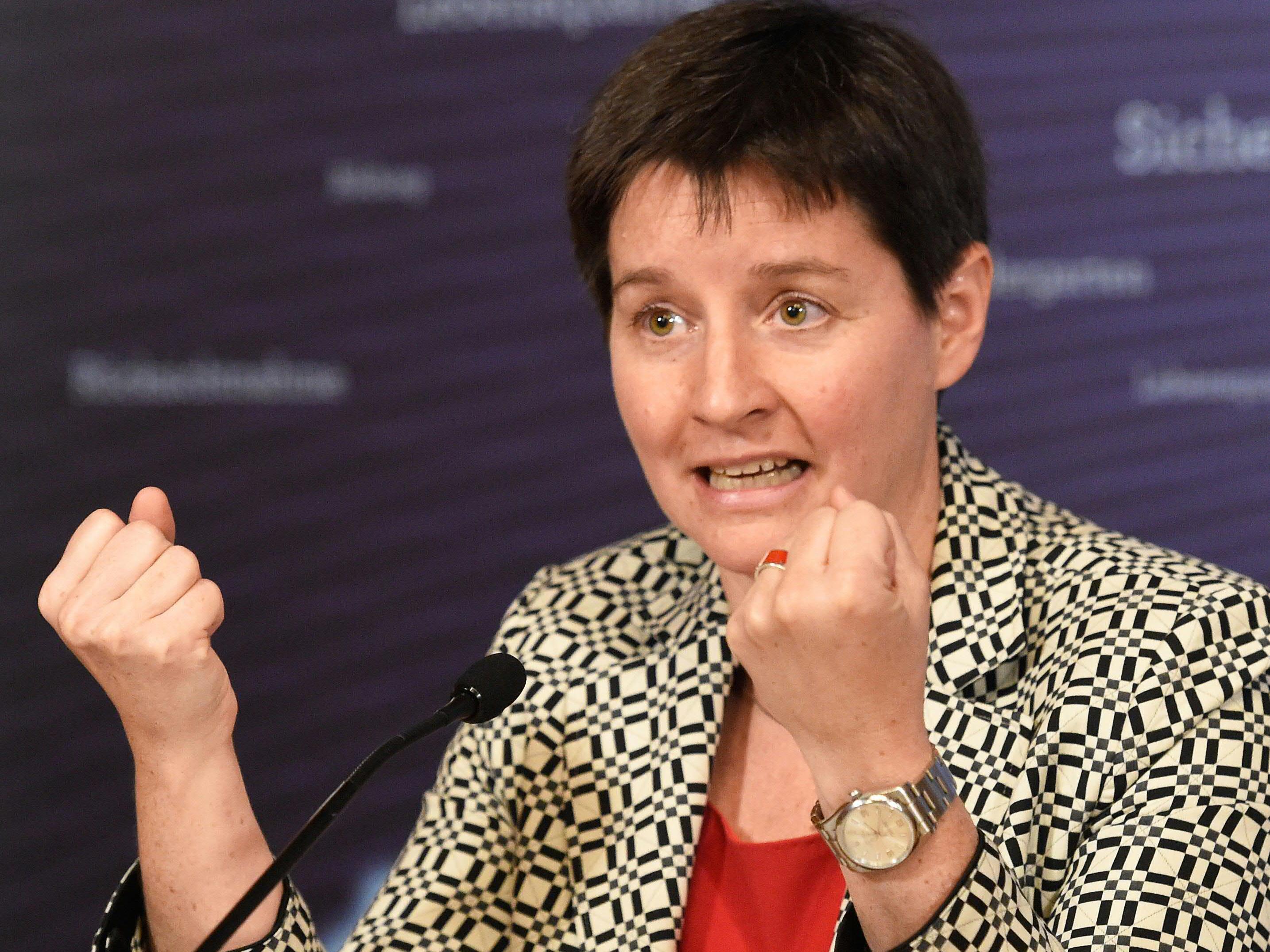Stadträtin Sonja Wehsely ist strikt gegen den Warnstreik der Spitalsärzte