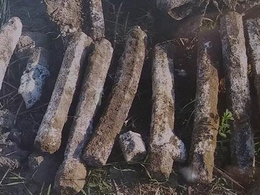 Stabrohrbomben wurden in Wien gefunden und sichergestellt