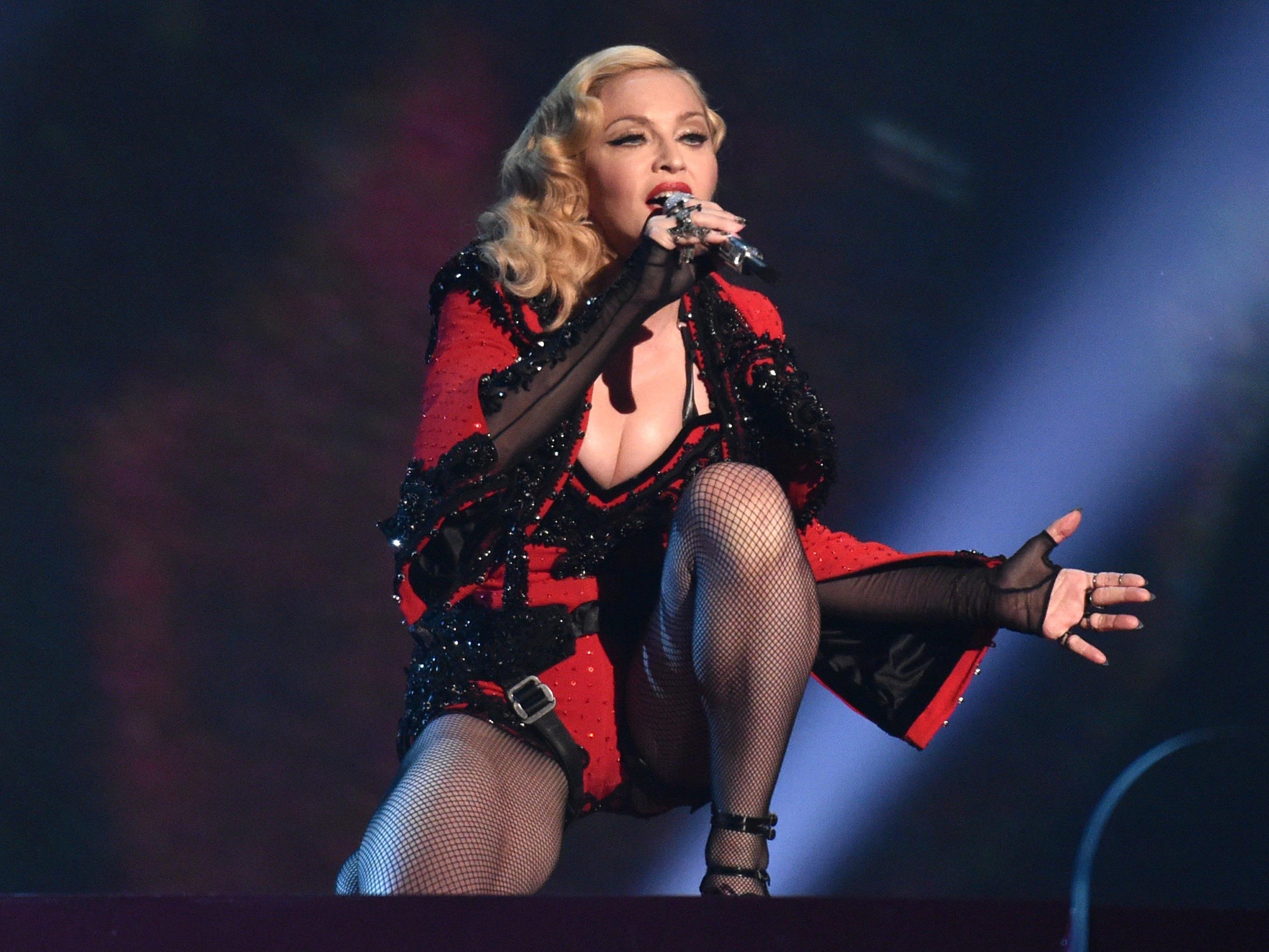 Madonna hat die Söhne von Präsidentschaftskandidat Trump scharf attackiert.