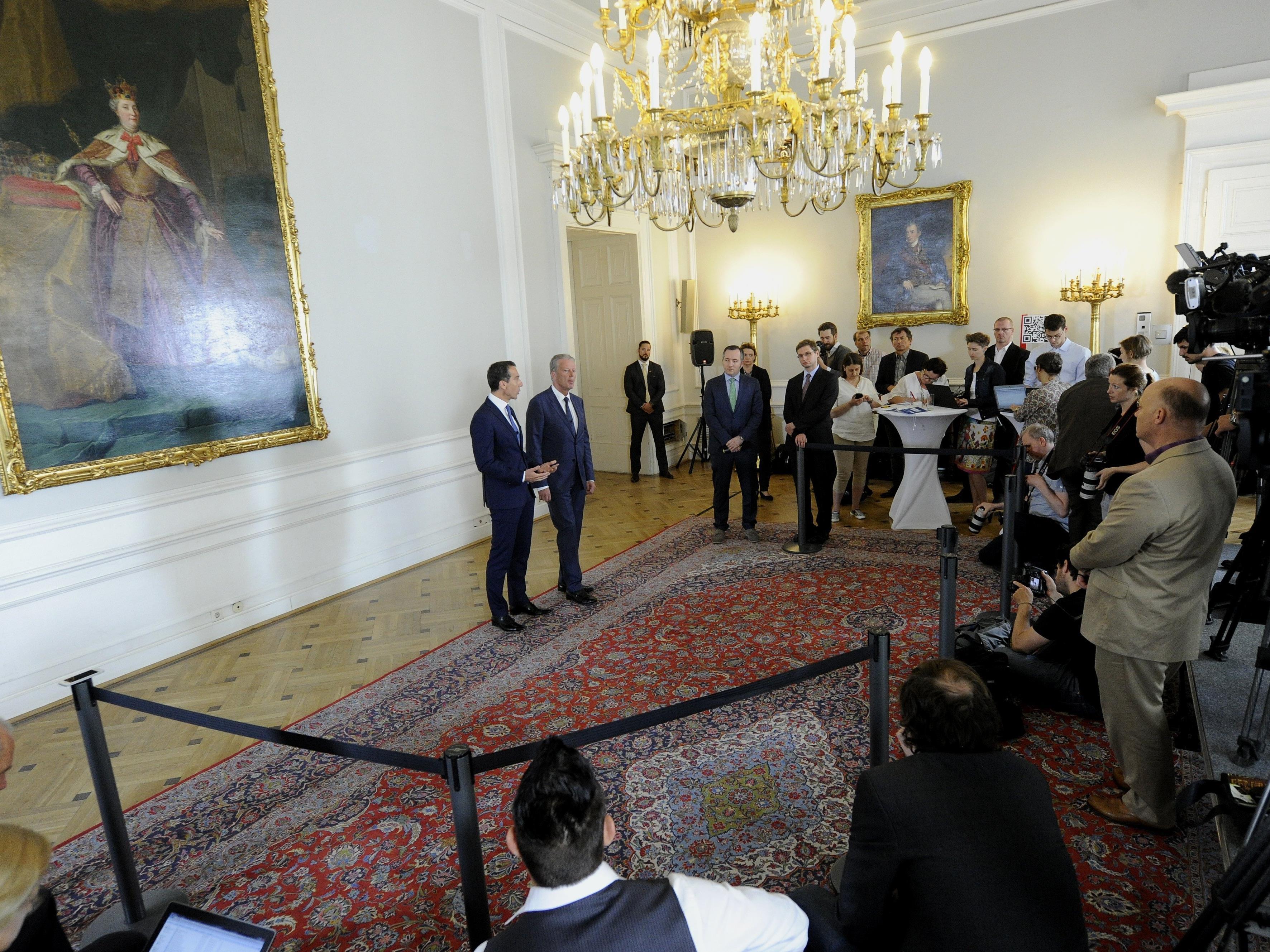 Mittlerweile Geschichte: Beim neuen Ministerrat wird es kein Pressefoyer mehr geben