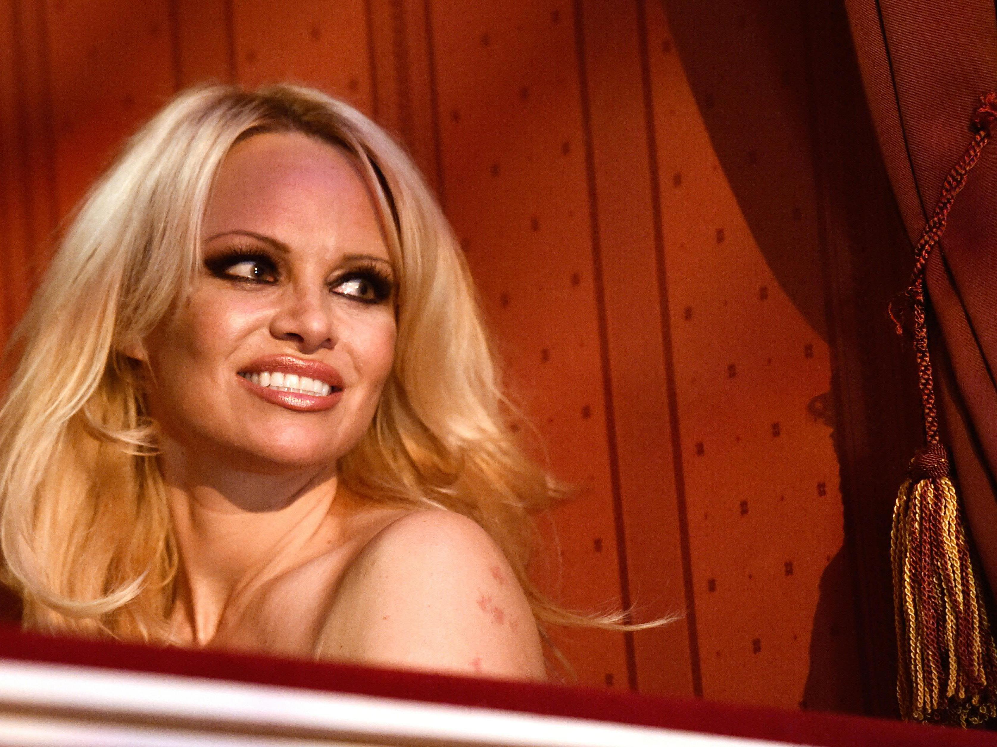Pamela Anderson ist eigentlich als Sex-Bombe bekannt