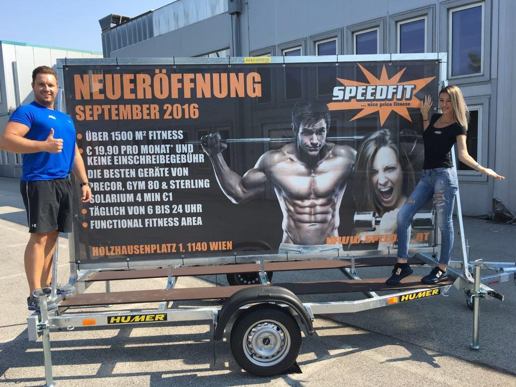 Speedfit eröffnet neu in Auhof.