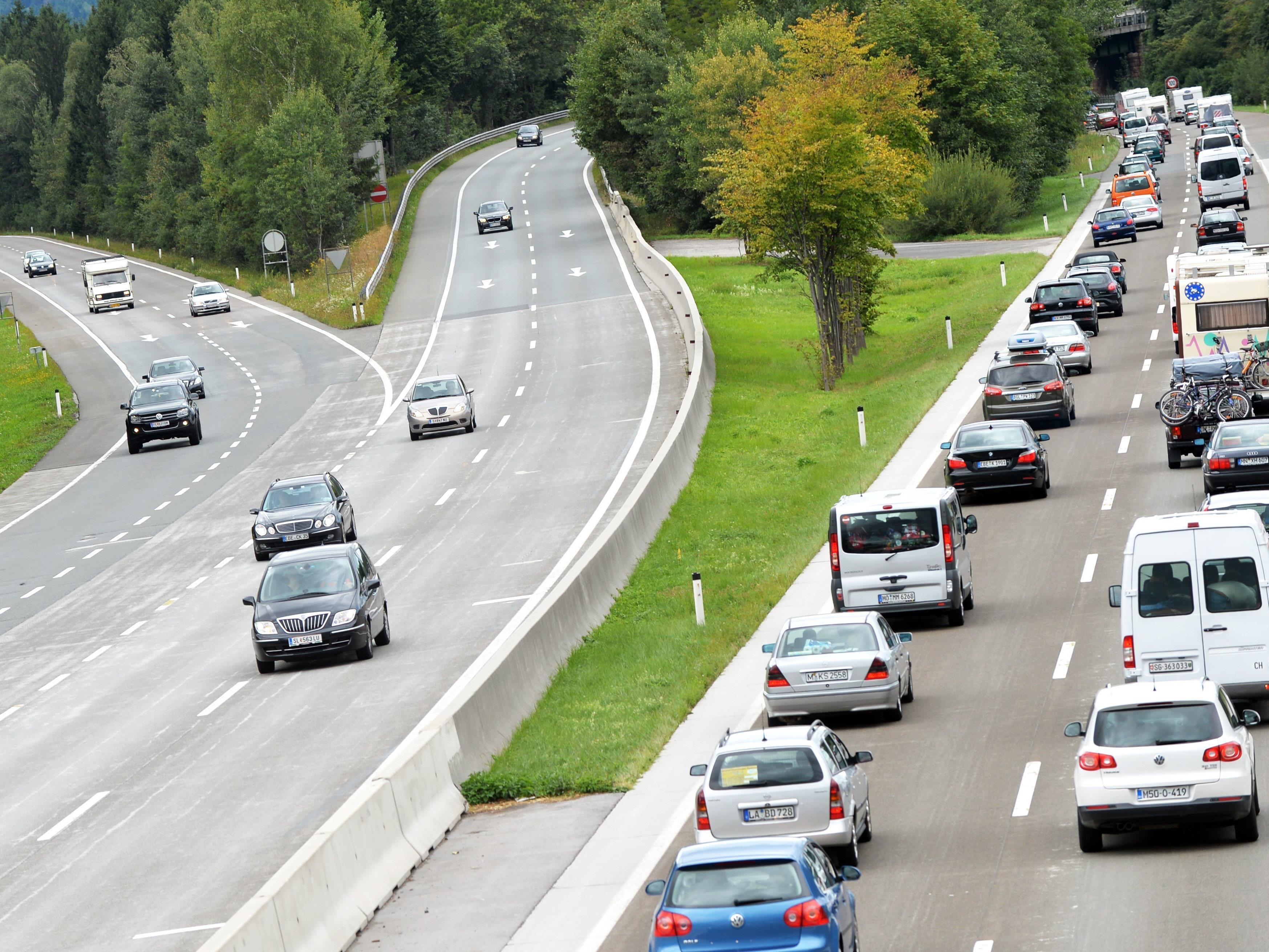 Auf Salzburgs Autobahnen brauchten die Autofahrer diesen Sommer sehr viel Geduld.