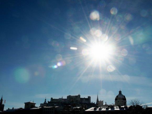 Am Wochenende wird es nochmal sommerlich in Salzburg.