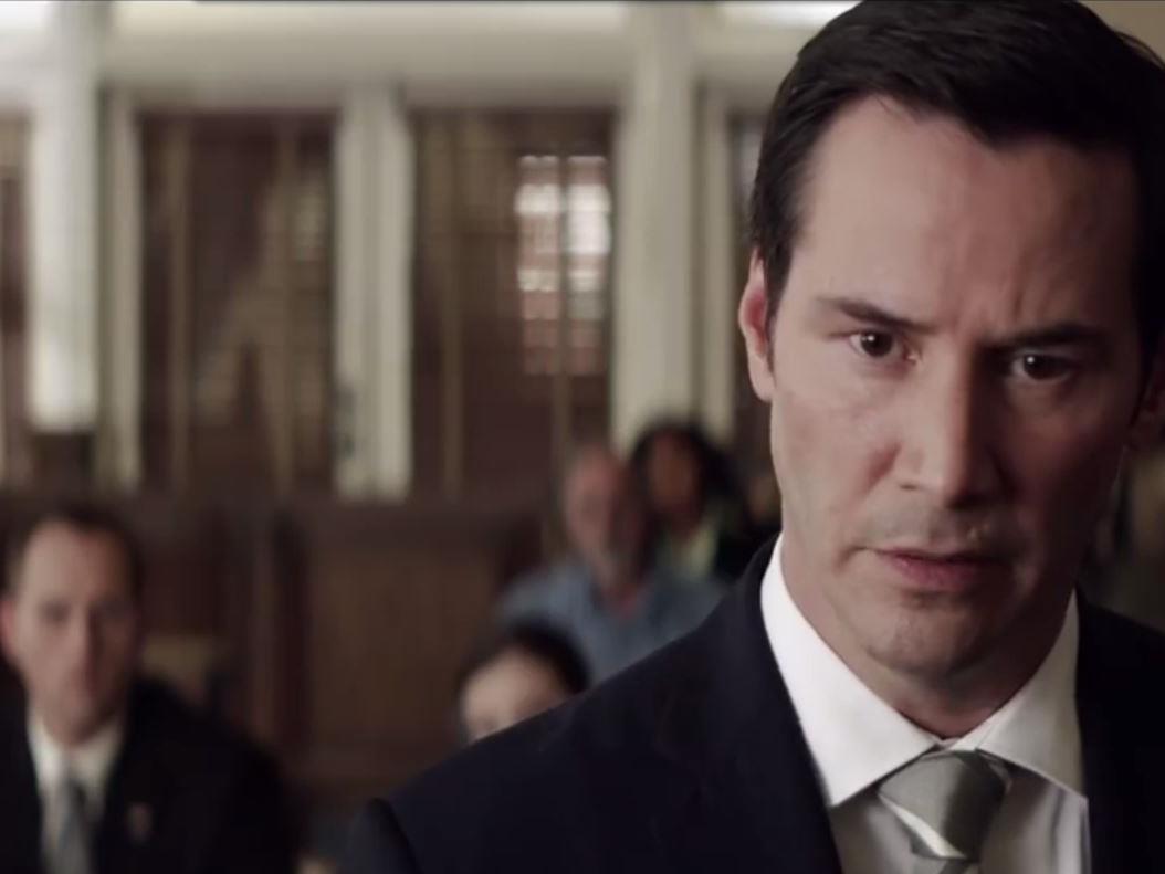 """Keanu Reeves im ersten Trailer zum Thriller """"The Whole Truth"""""""