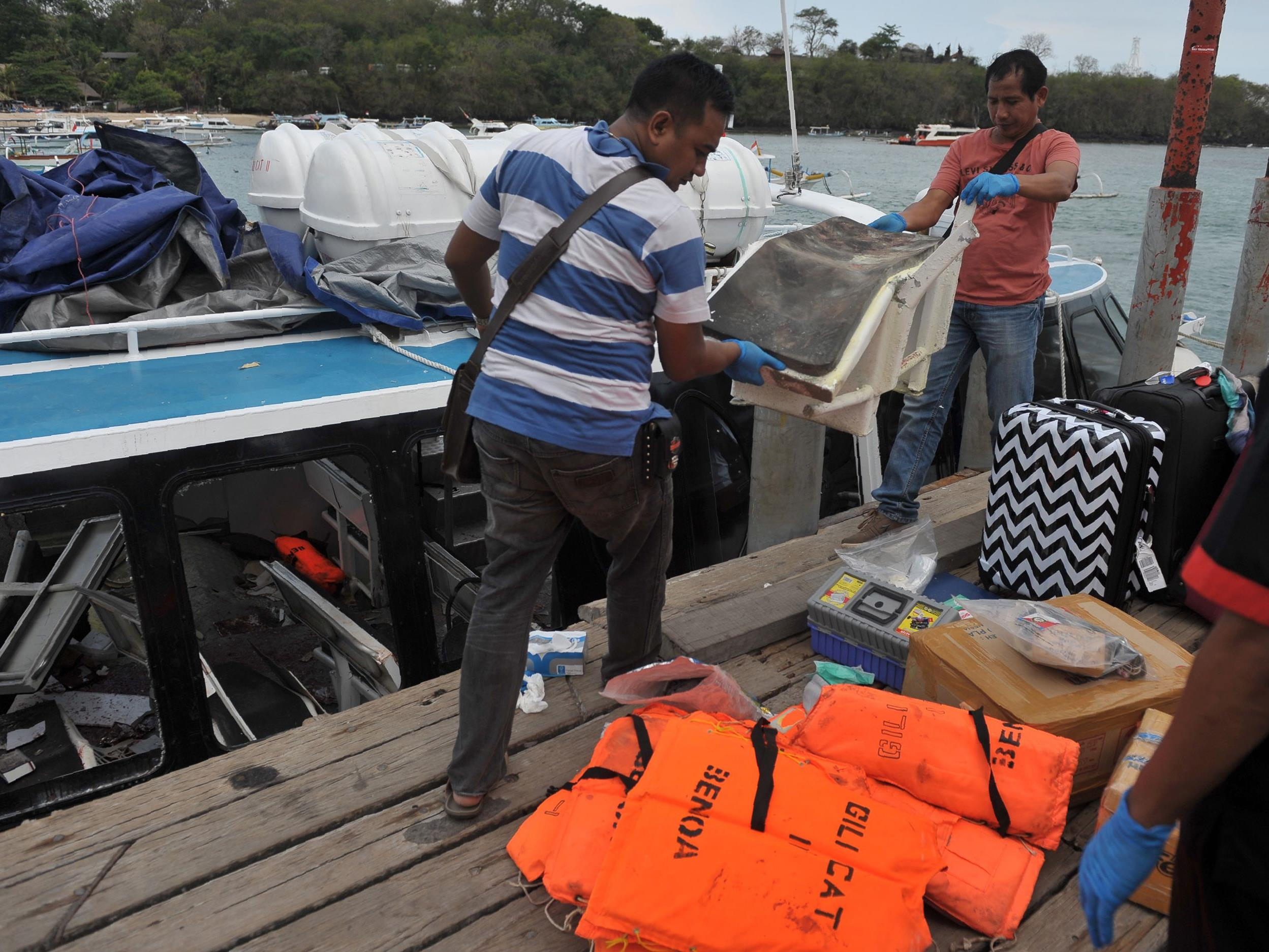 Eine Explosion auf dem Schnellboot tötete eine Österreicherin