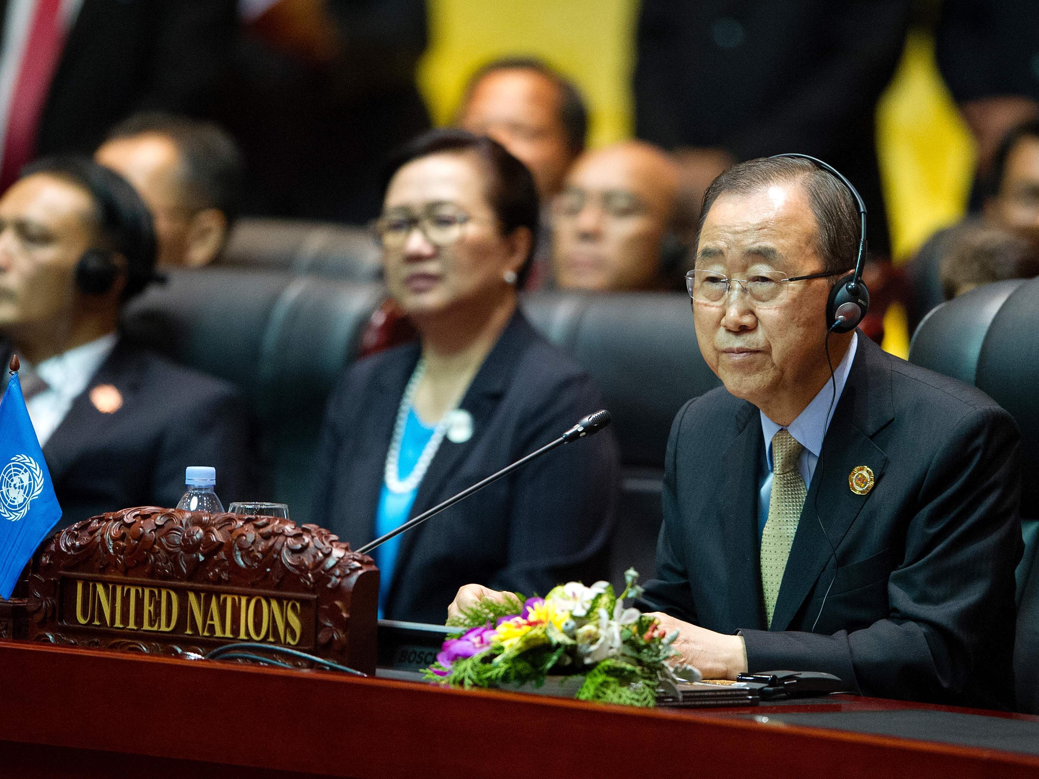 Ban Ki-moon wird sich später noch zu den Vorfällen äußern.