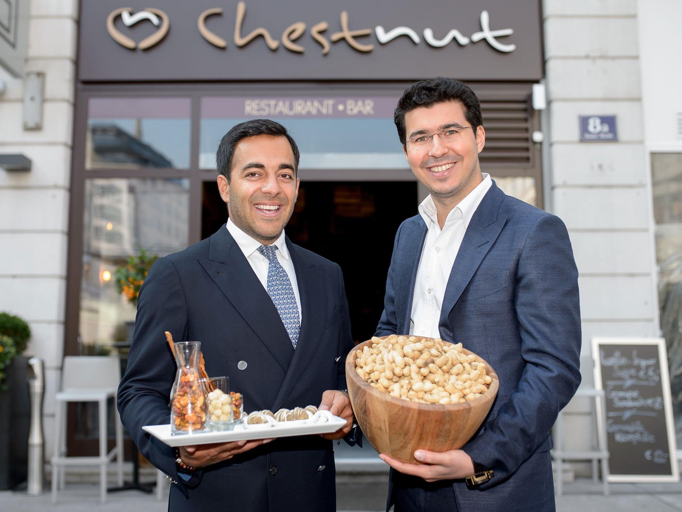 Asim Hasanov und Faradj Akhverdiev (Gastronomen von Chestnut)