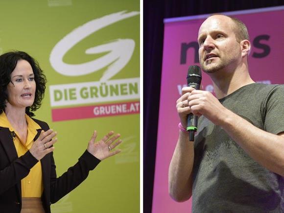 Unterstützung für die Parteien für das Wahlkampf-Finale in der Leopoldstadt kommt von Eva Glawischnig und Matthias Strolz
