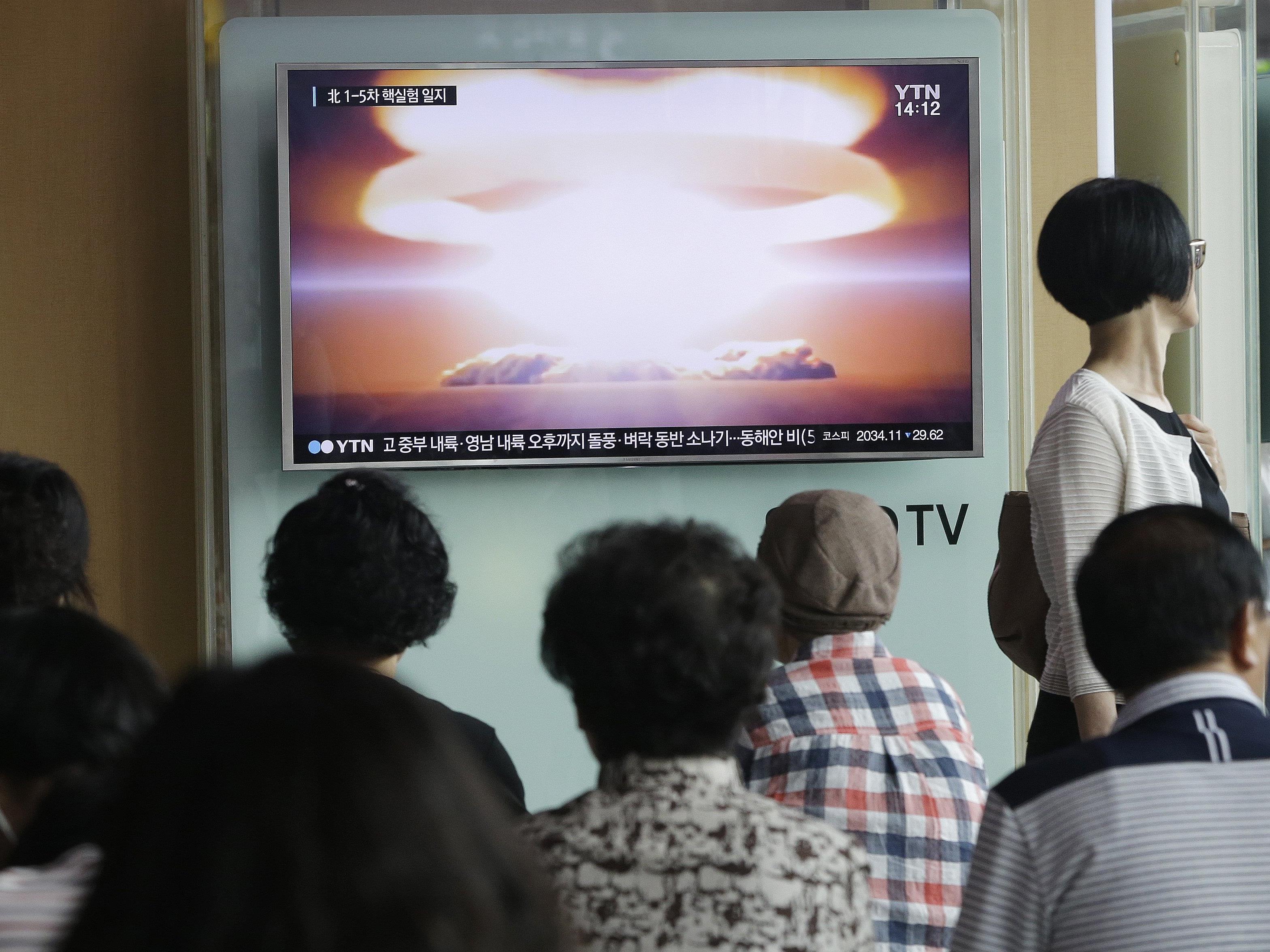 Es war der fünfte Atomwaffentest dieser Art.