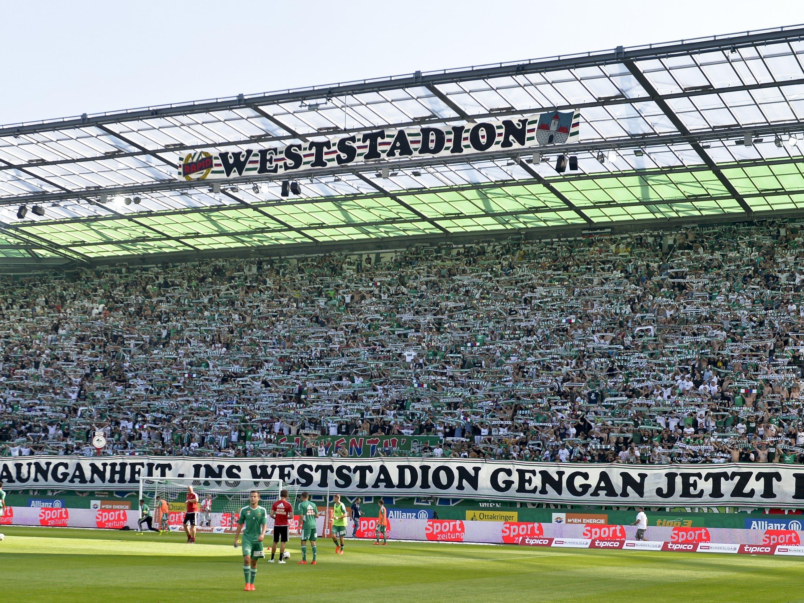 Rapid darf bei der Derby-Premiere im Allianz-Stadion mit einem vollen Haus rechnen.