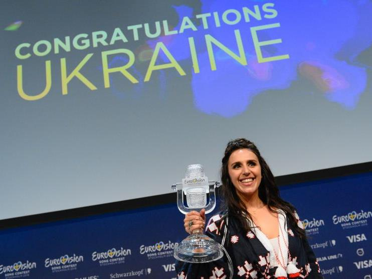 Jamala brachte den Song Contest in die Ukraine.
