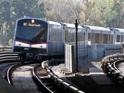 Die U-Bahnlinie U2 ist derzeit nur abschnittweise unterwegs.